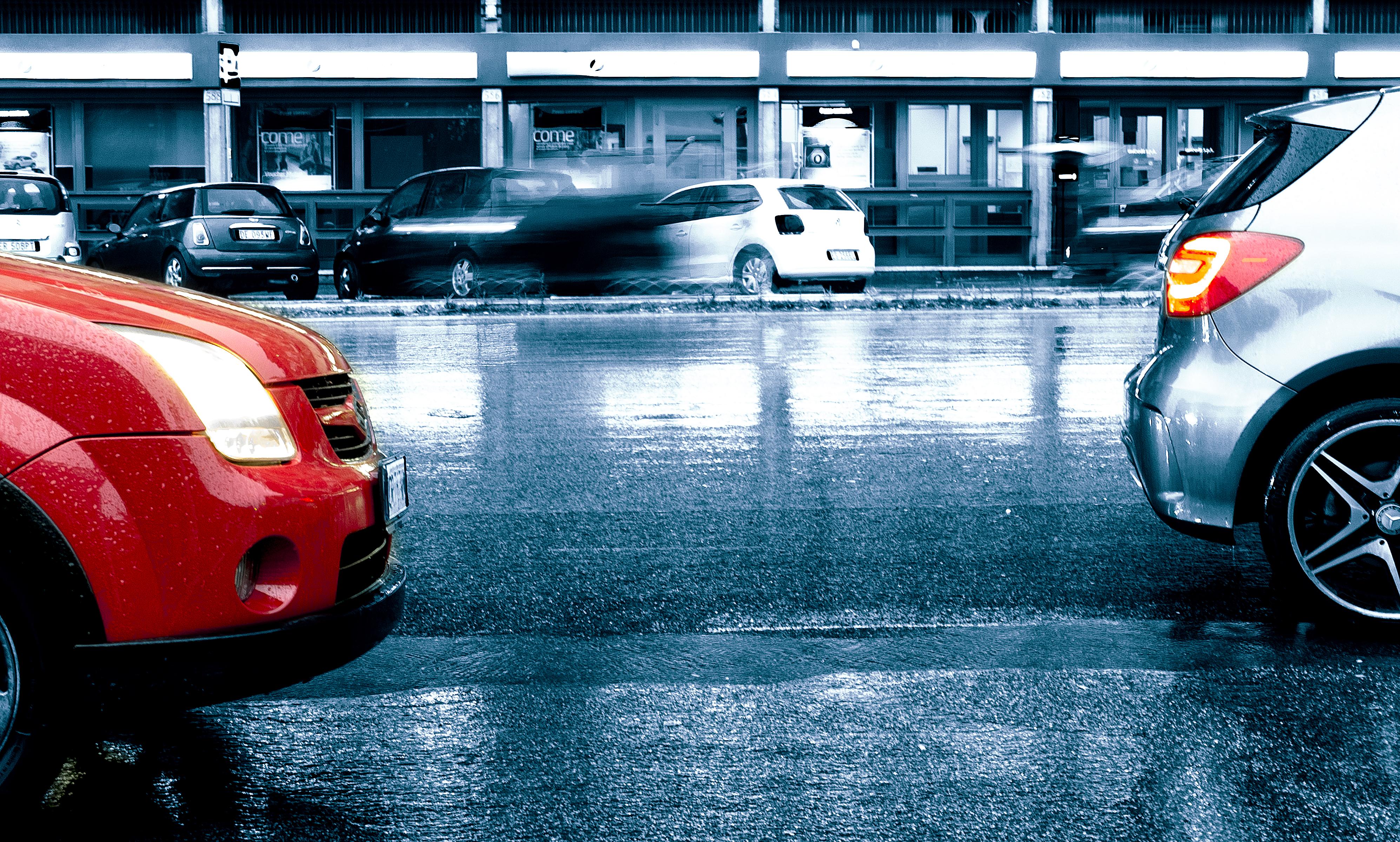 00A-1509 MONTIB CAR URB RAIN X10, 2015, Public domain, Lights, Mercedes, HQ Photo