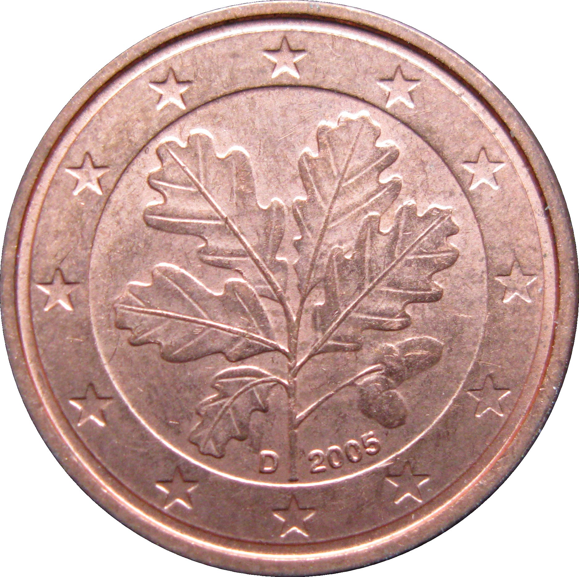 1 Euro Cent - Germany - Federal Republic – Numista