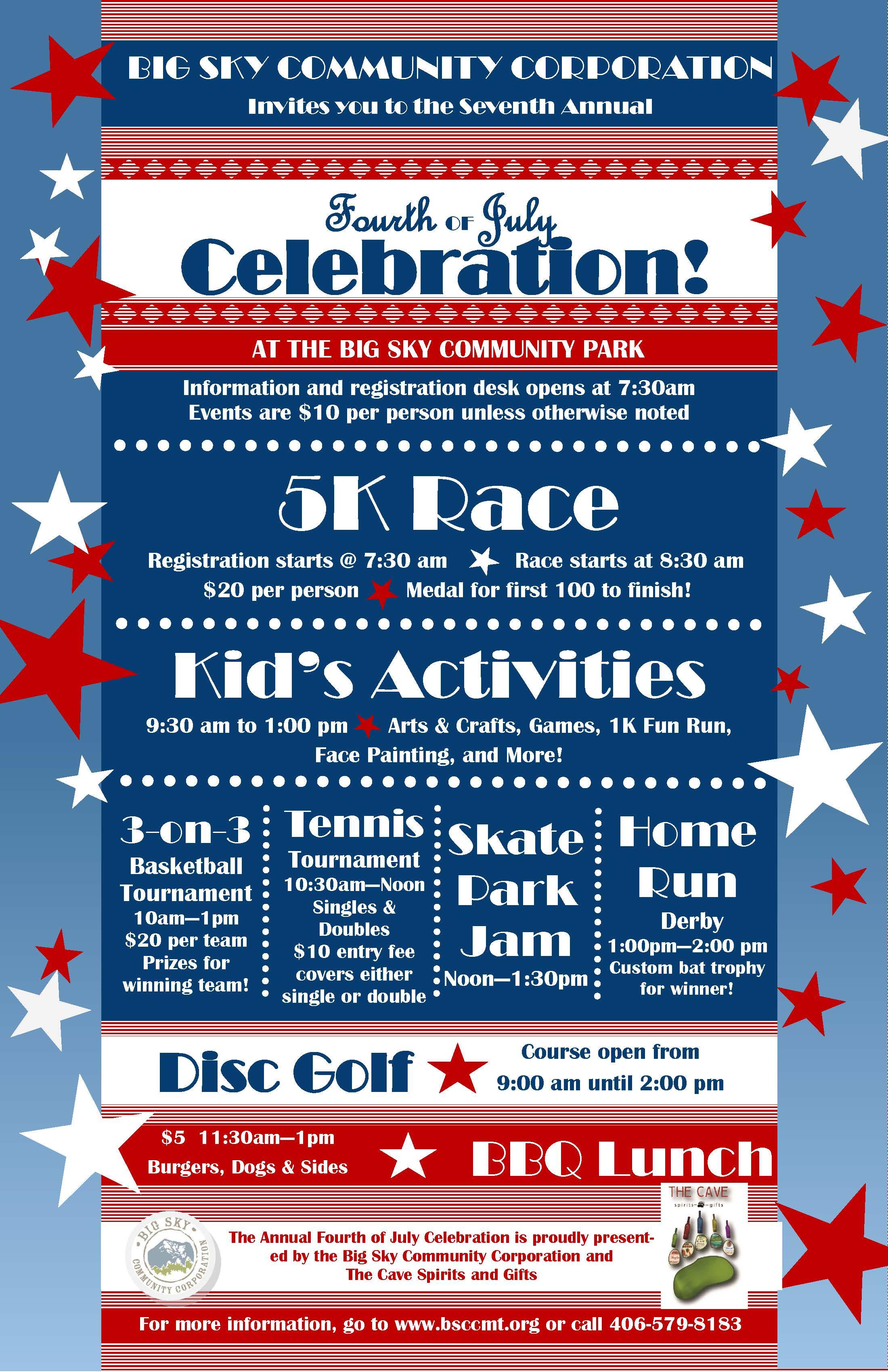 4th of July Celebration - Big Sky Community Organization