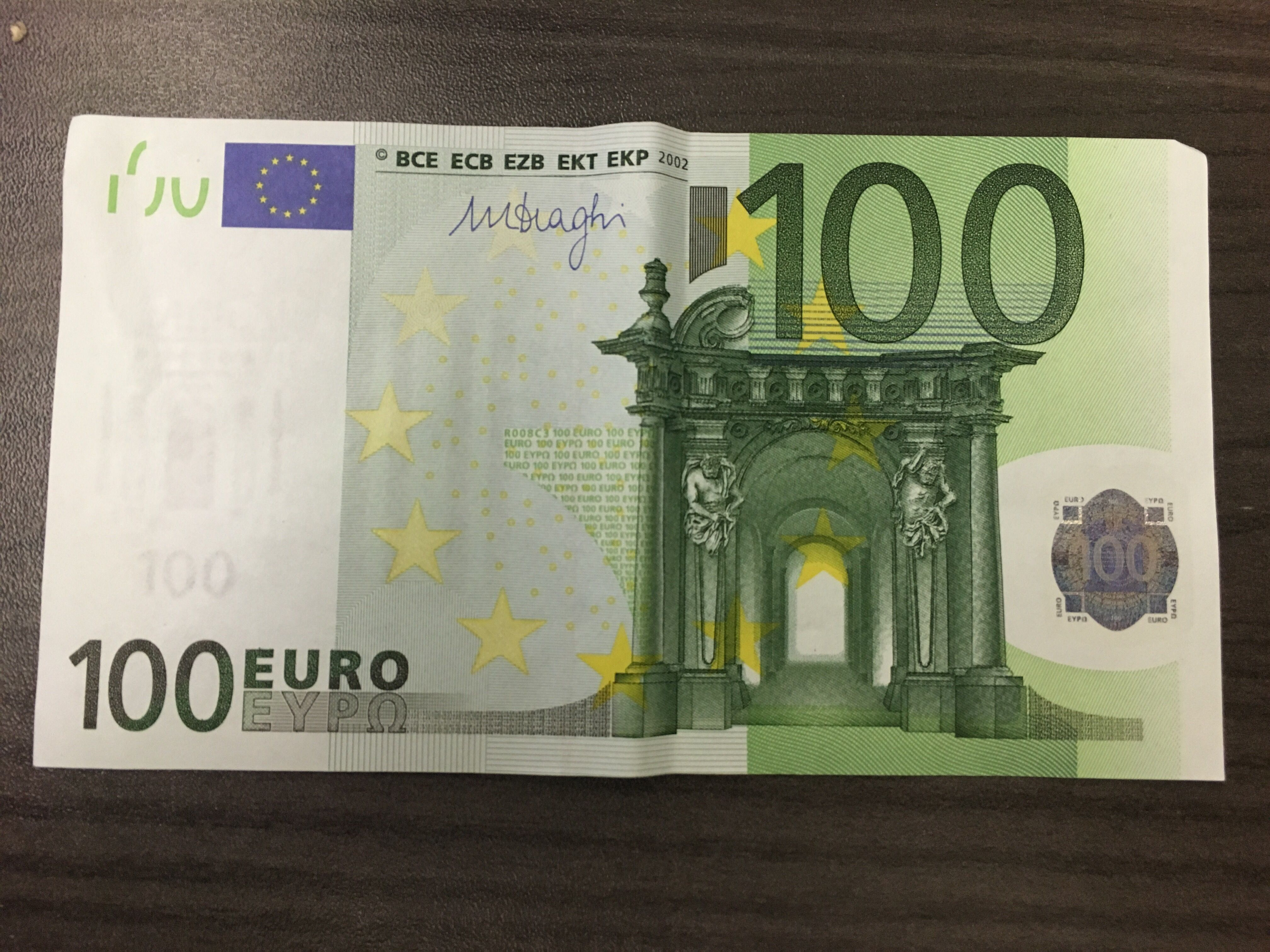 Hundred euros photo