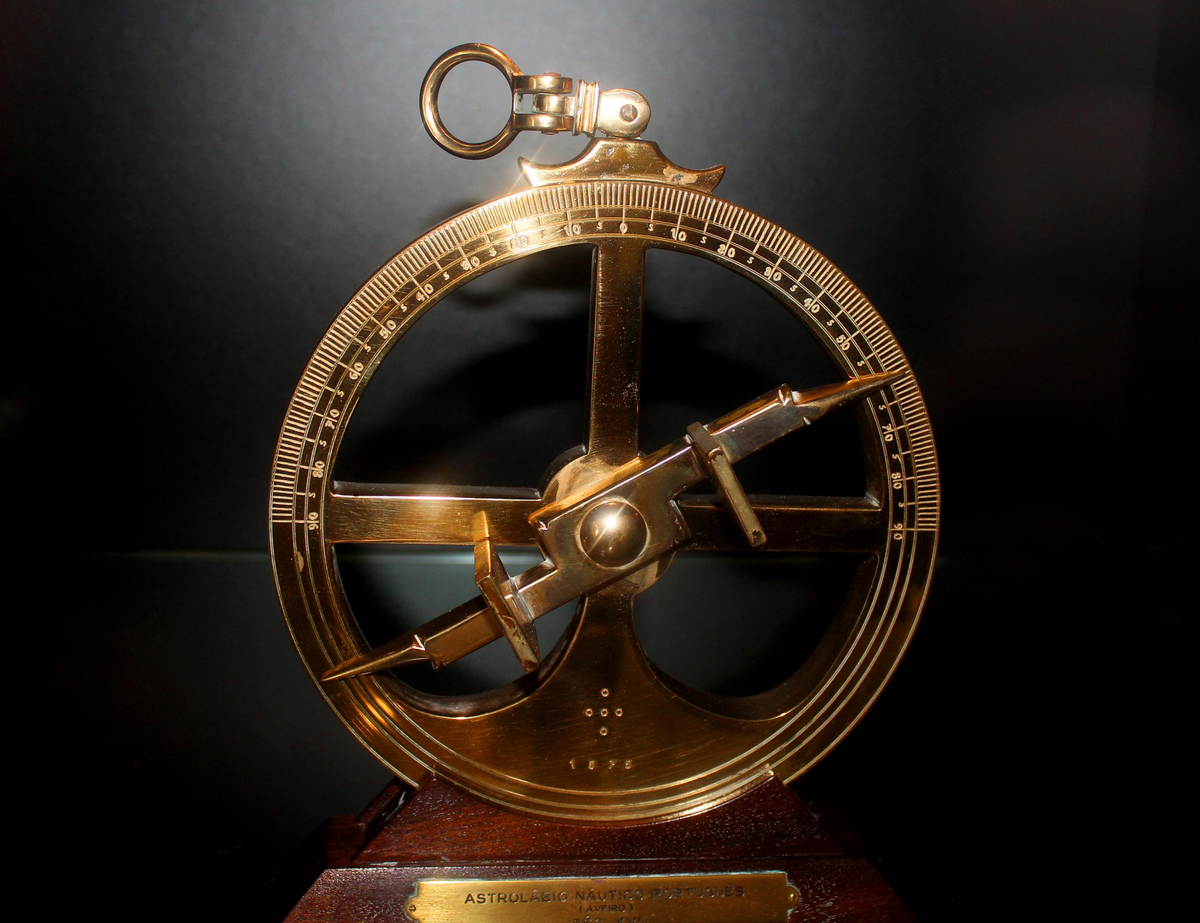 16th-century portuguese nautical astrolabe - european age of discovery photo