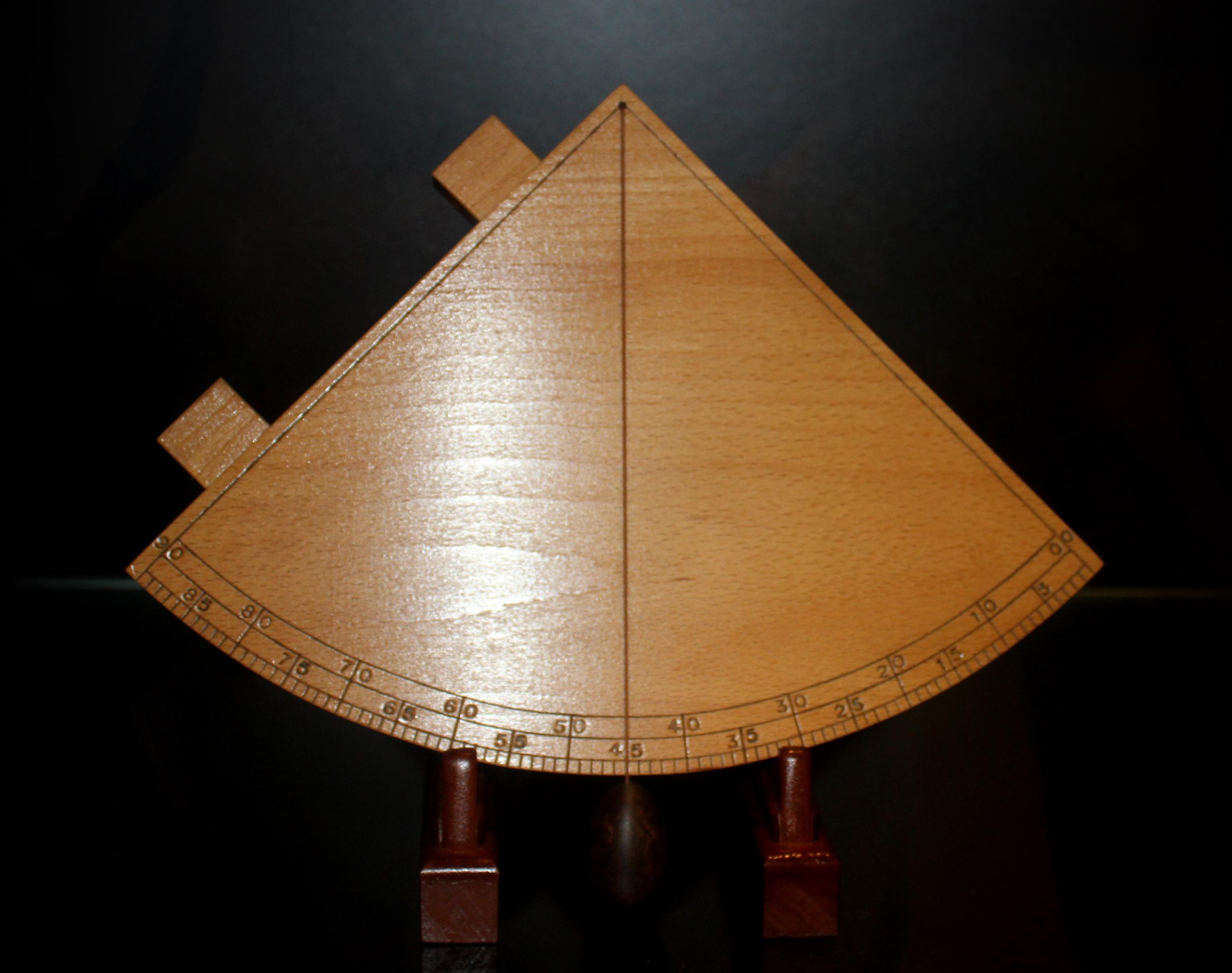 16th-Century Portuguese Nautical Sextant - European Age of Discovery, Antique, Navigator, Portugal, Oporto, HQ Photo