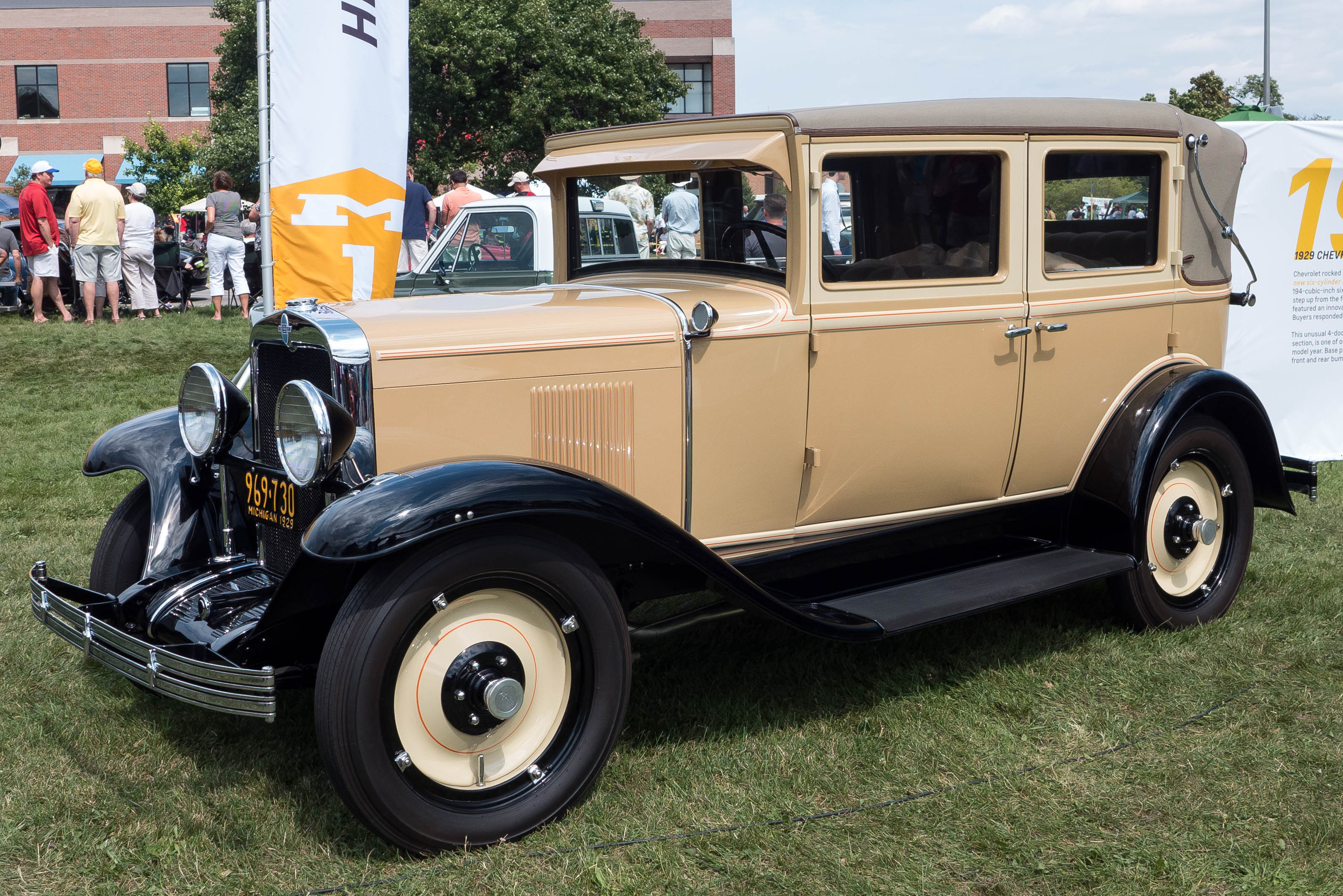 1929 Chevrolet 4-door Landau Convertible, Car, Classic, Cruise, Dmc, HQ Photo