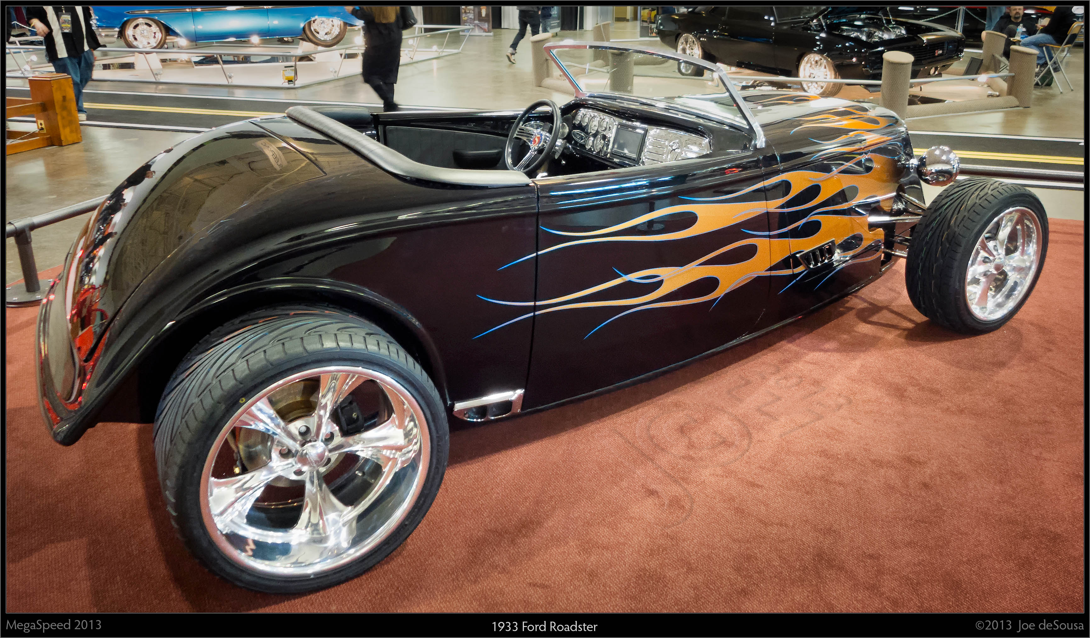 1933 Ford Roadster, 2013, Megaspeed, Show, Roadster, HQ Photo