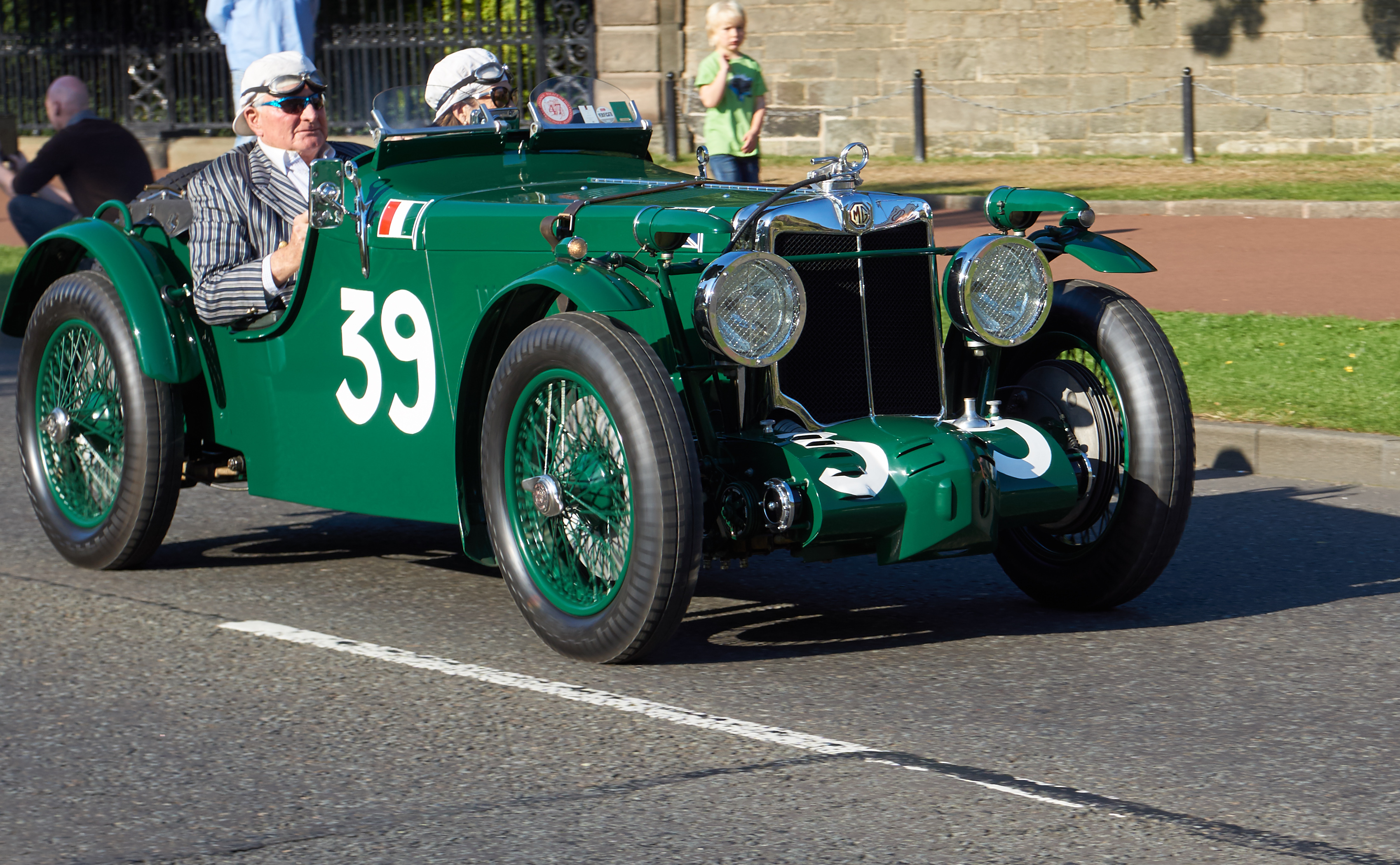 1933 mg k3 magnette supercharged roadster photo