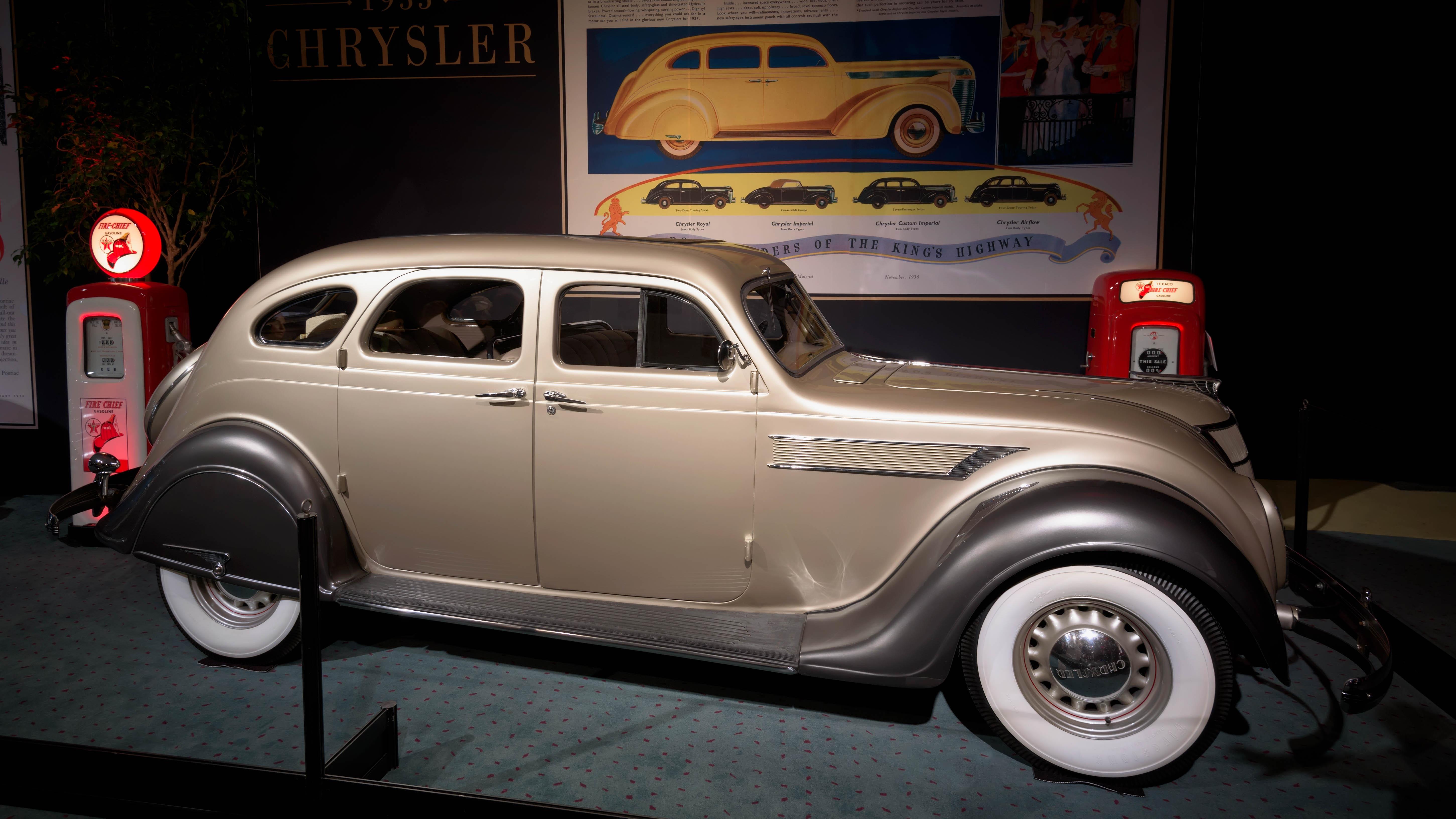 1935 Chrysler Airflow, CA, Canada, Car, D750, HQ Photo