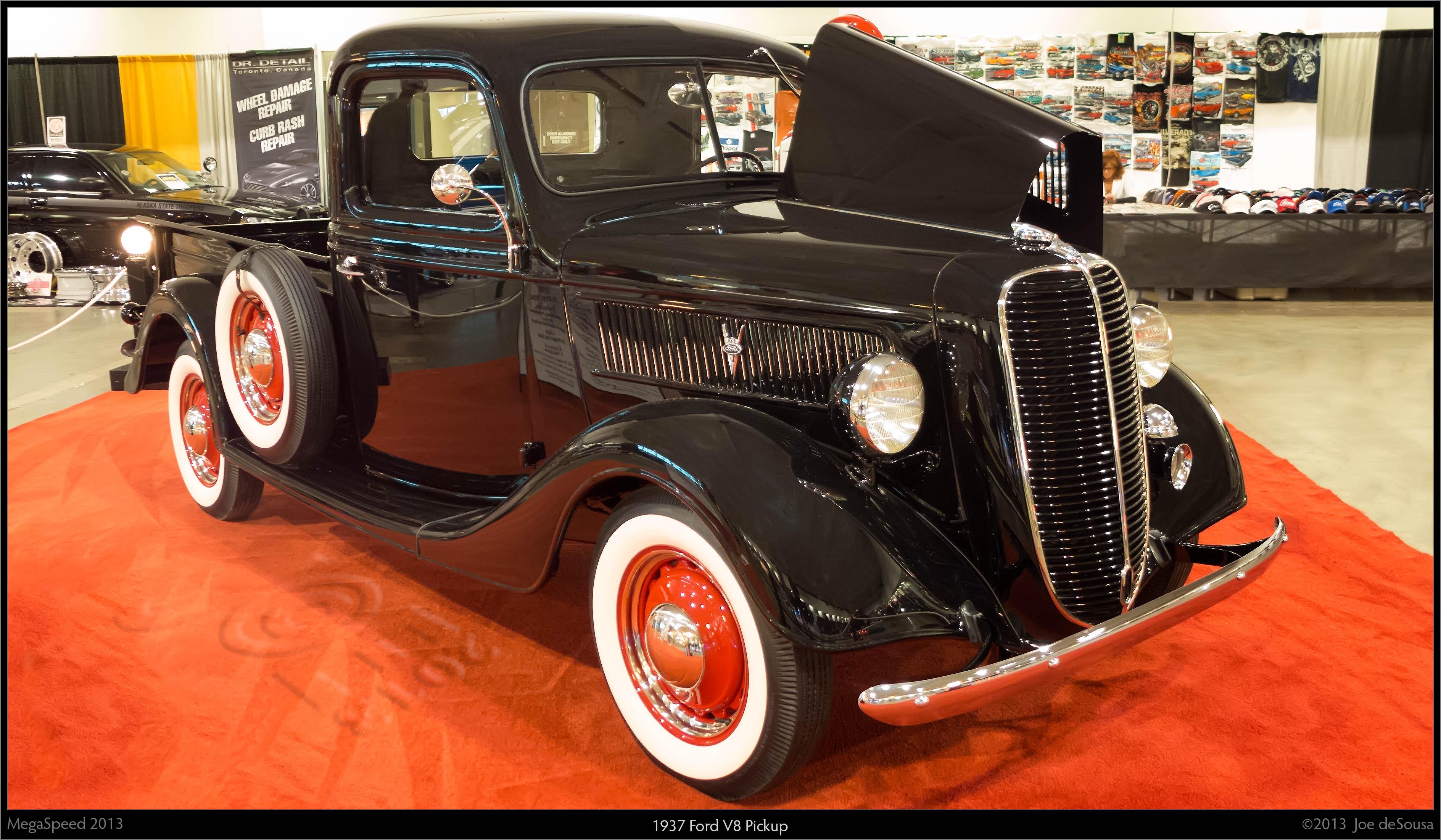 1937 ford v8 pickup photo