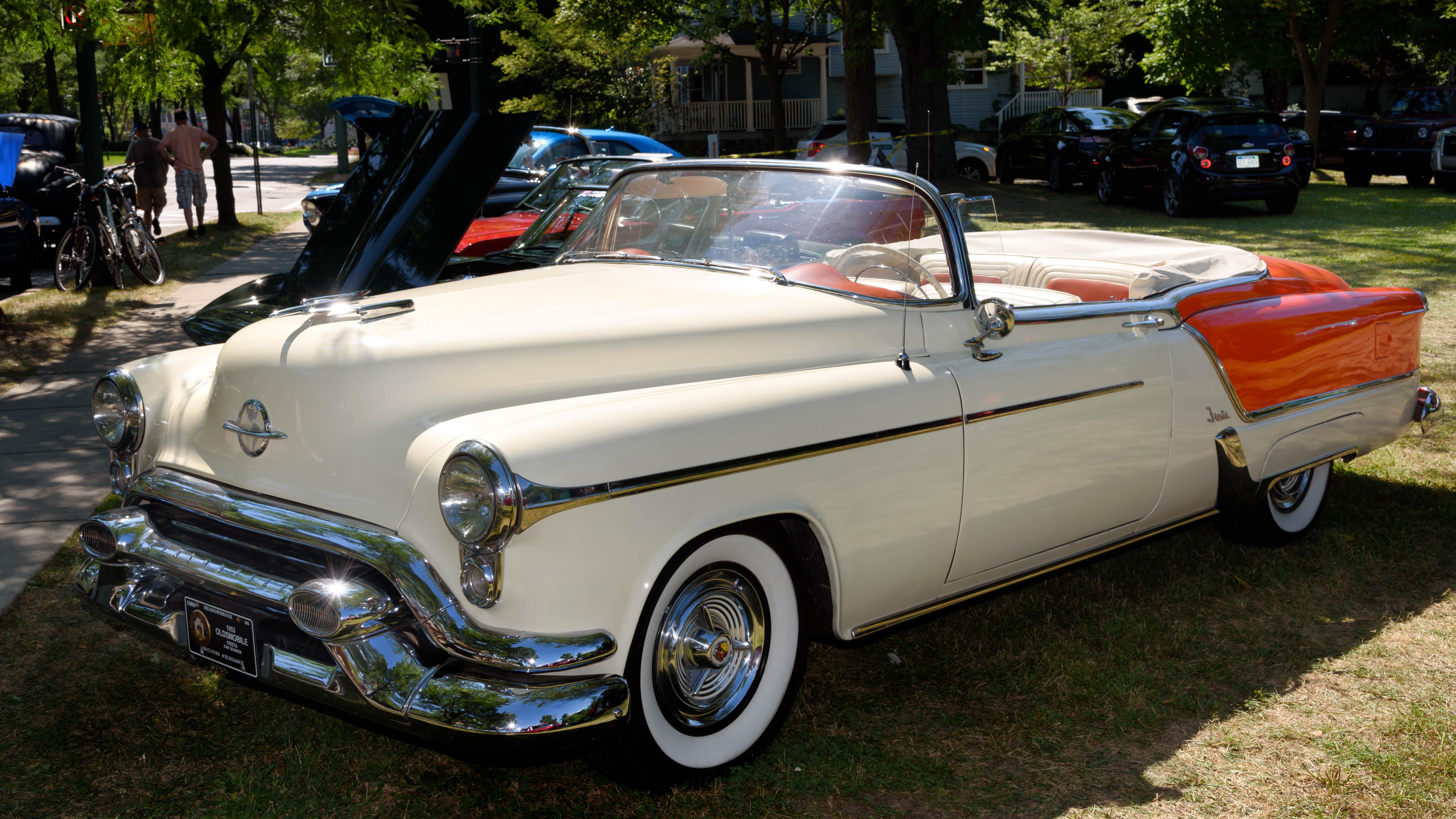 1953 Oldsmobile Ninety-Eight Fiesta Convertible, 2015, Nikon, Vehicle, Us, HQ Photo