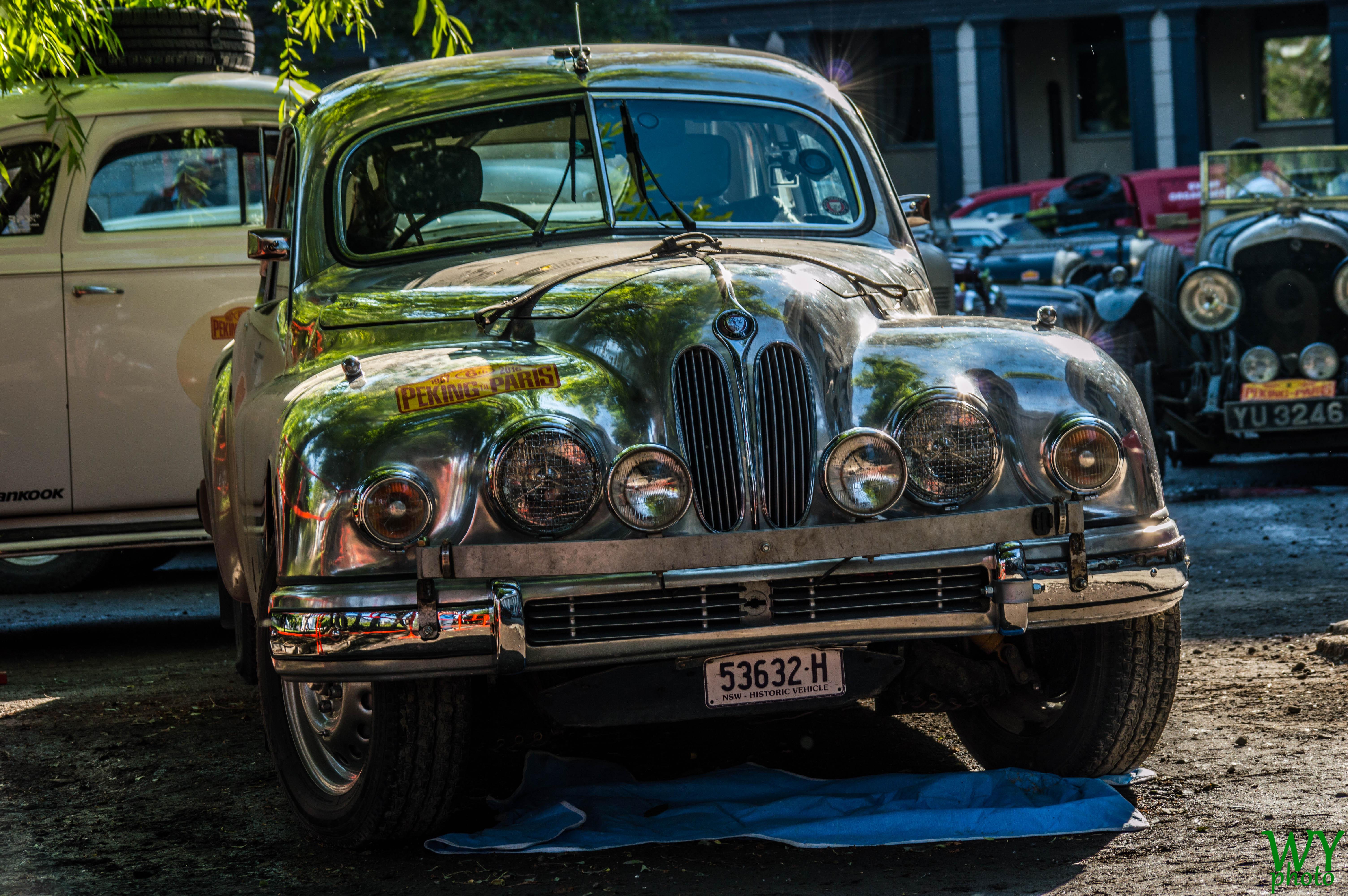1954 Bristol 403, Car, Lines, Outdoor, Peking2Paris2016, HQ Photo