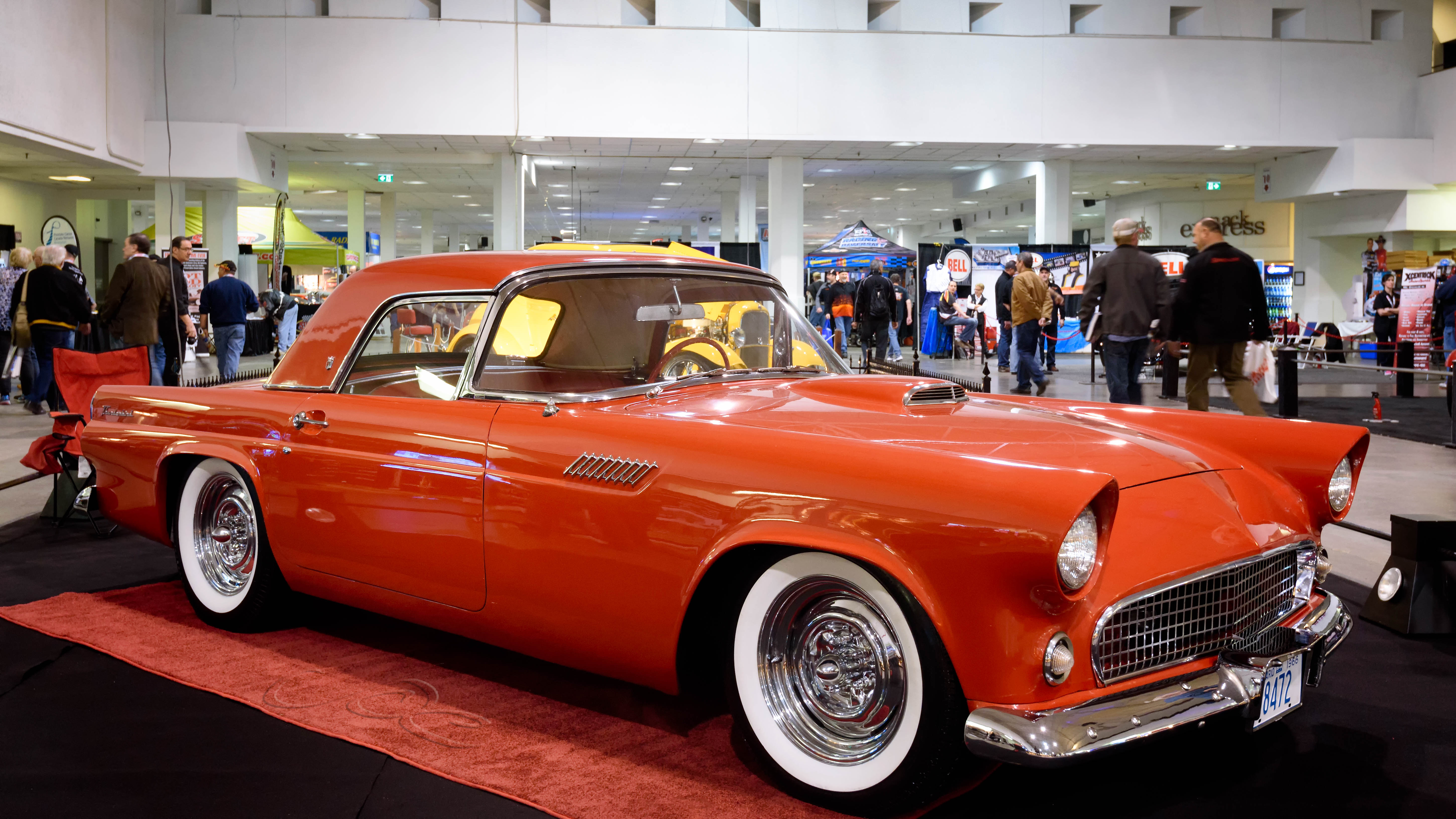 1955 ford thunderbird,
