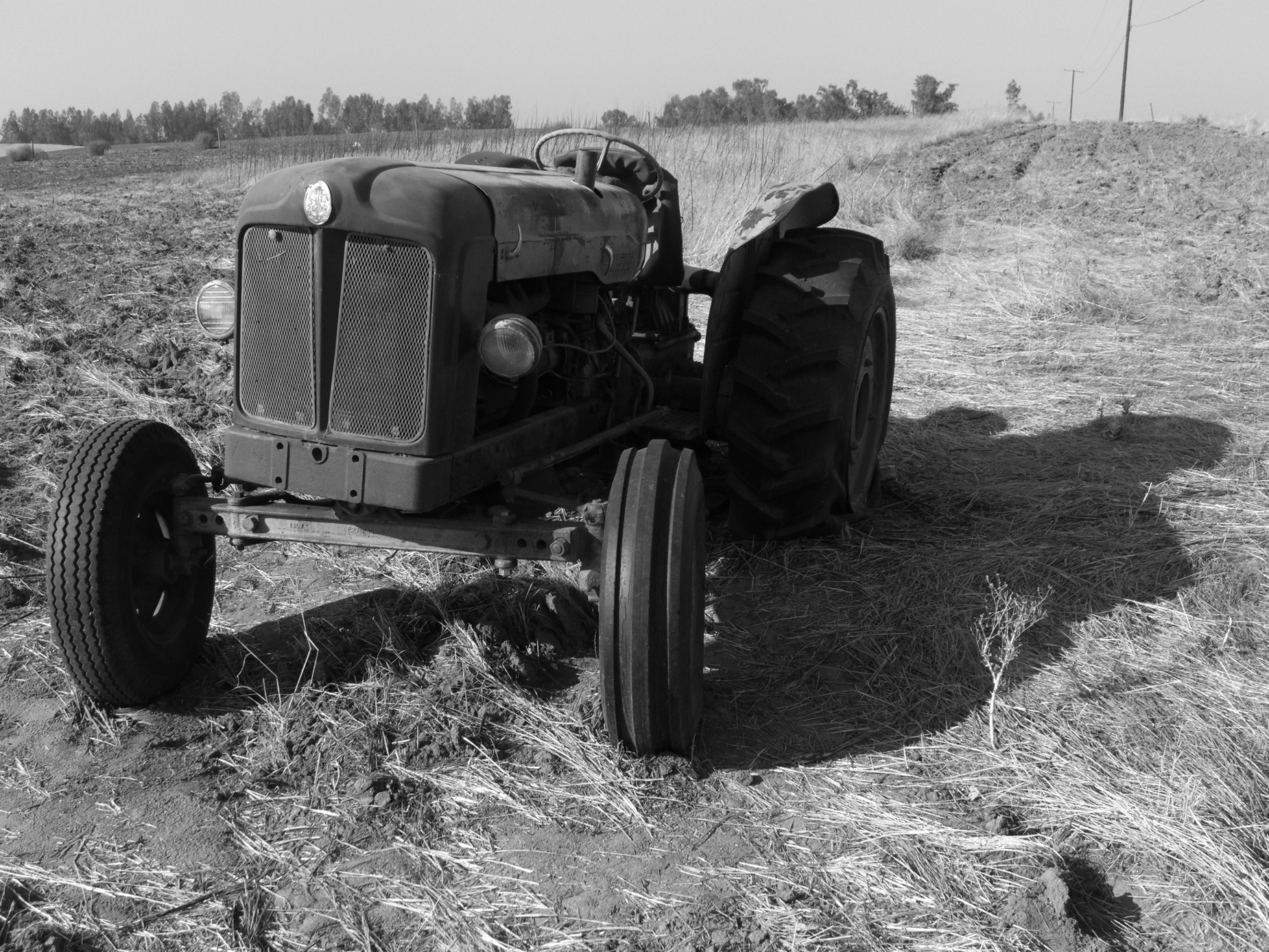 1956 fordson major e1a tractor laid to r photo