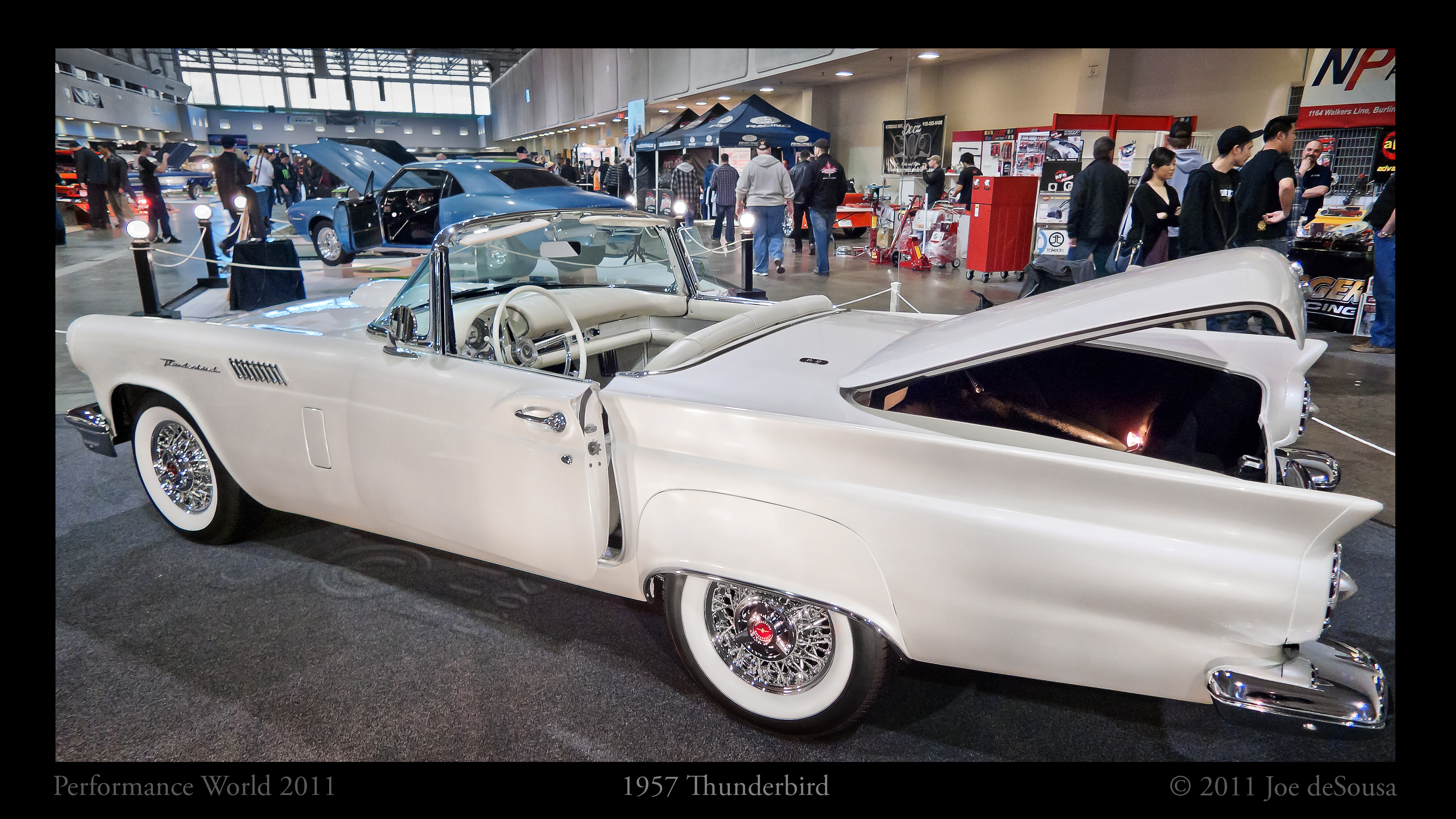 1957 Ford Thunderbird, Photo border, Thunderbird, Vehicle, Viveza, HQ Photo