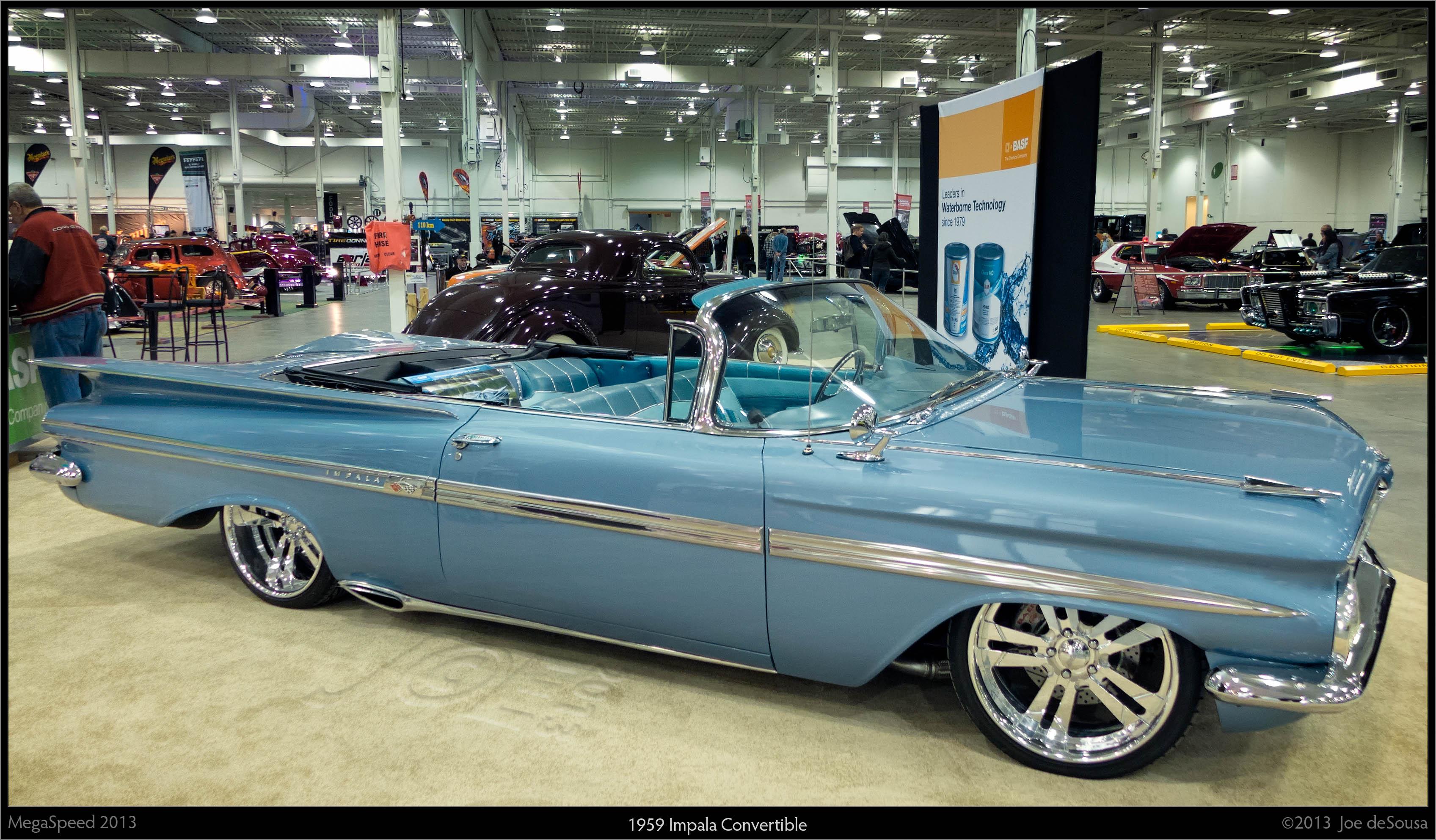 1959 Impala Convertible, 1959, Megaspeed, Tri, Show, HQ Photo