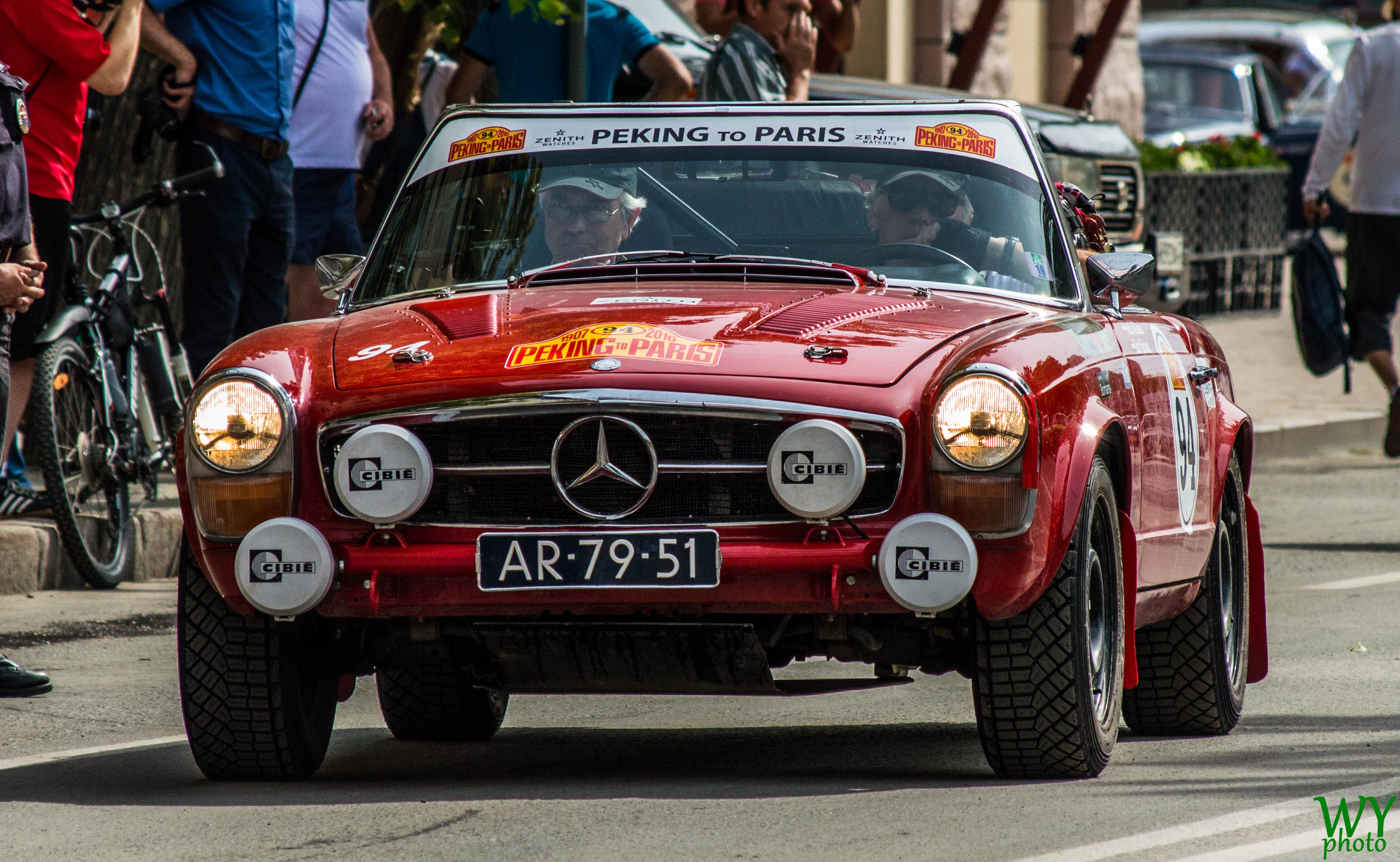 1966 mercedes 230 sl - mick de haas & anthony verloop photo