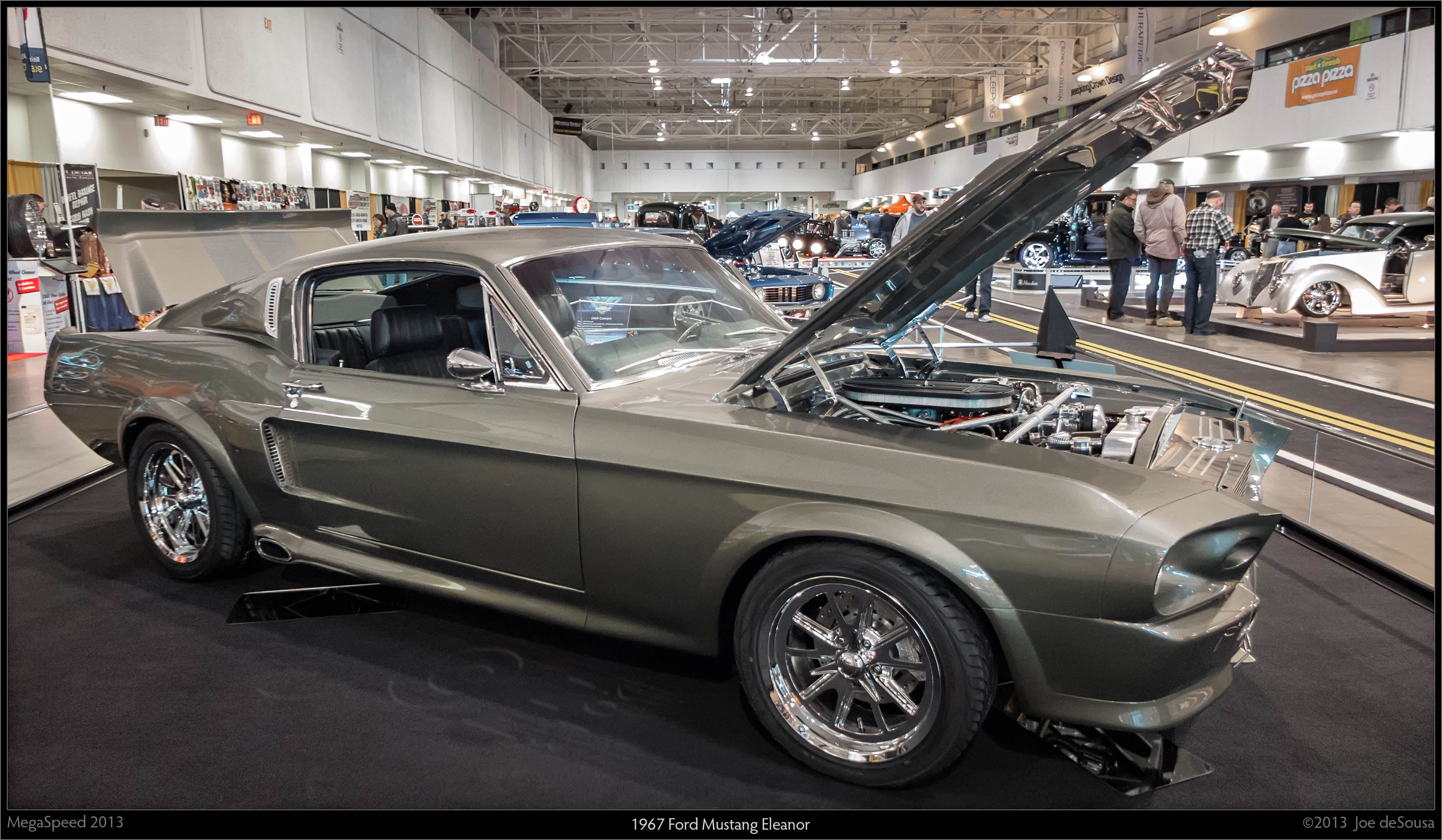 1967 ford mustang eleanor photo