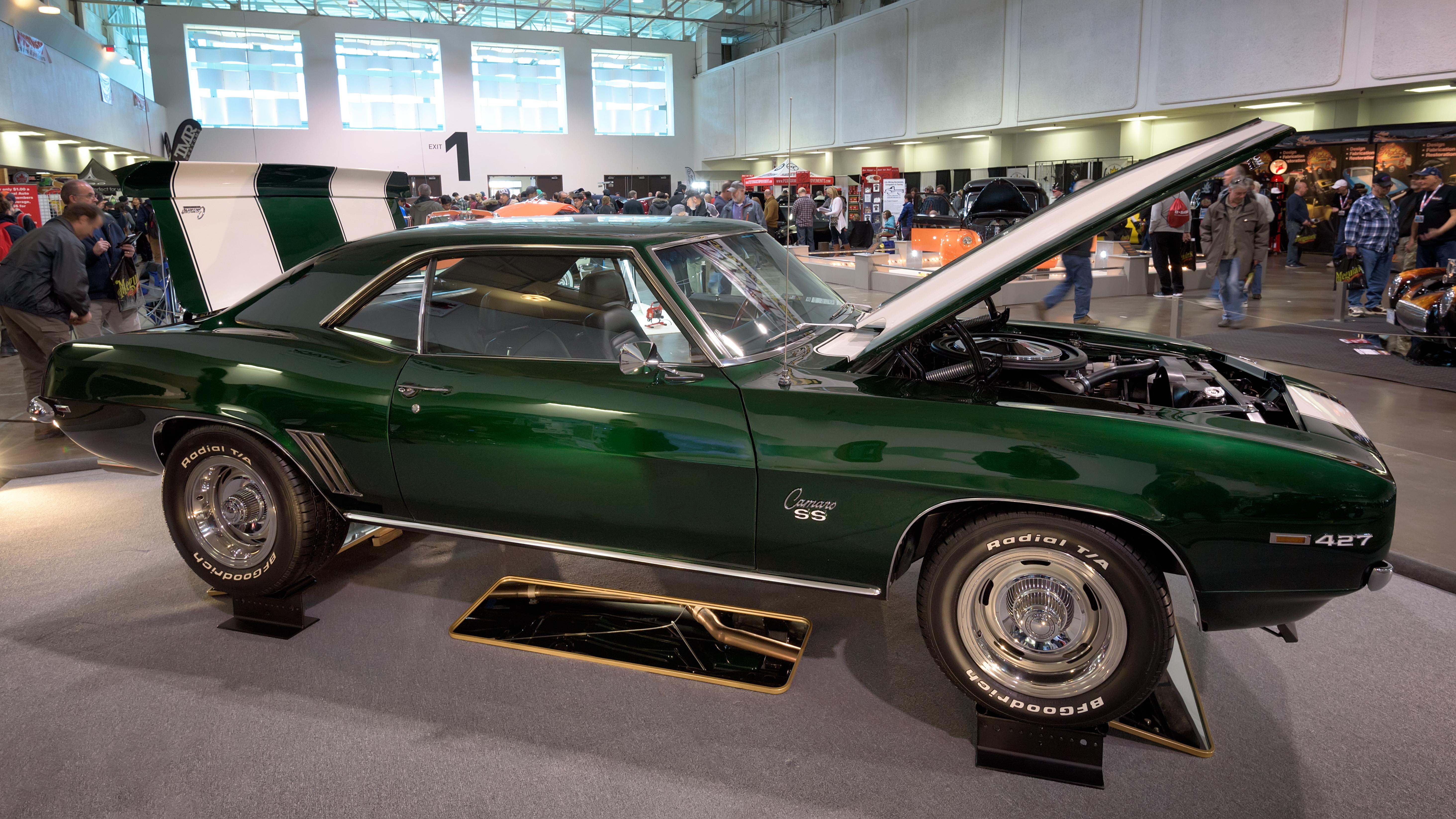 1969 chevrolet camaro ss 427 photo