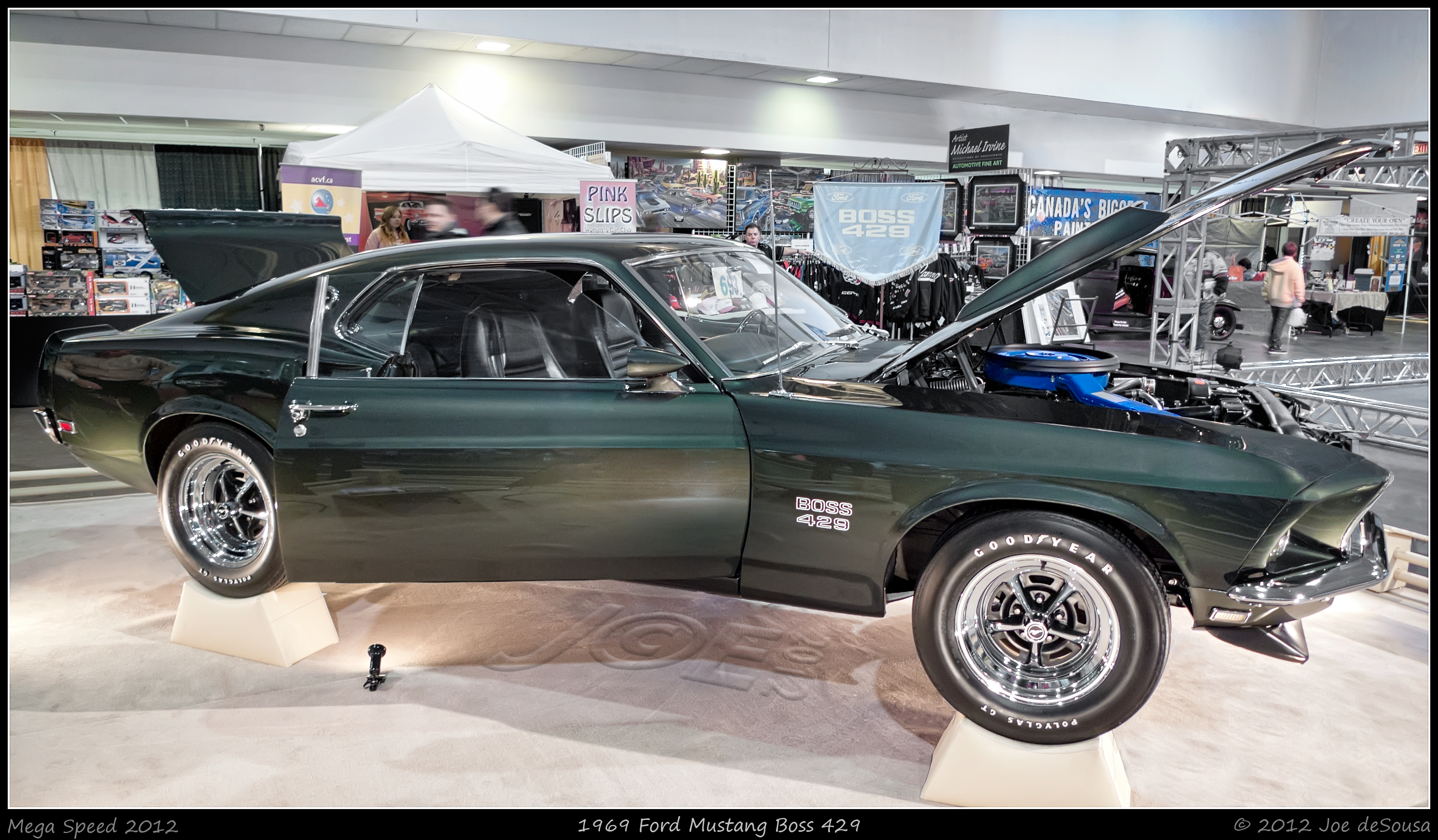 1969 Ford Mustang Boss 429, 1969, Mississauga, Vehicle, Topaz, HQ Photo