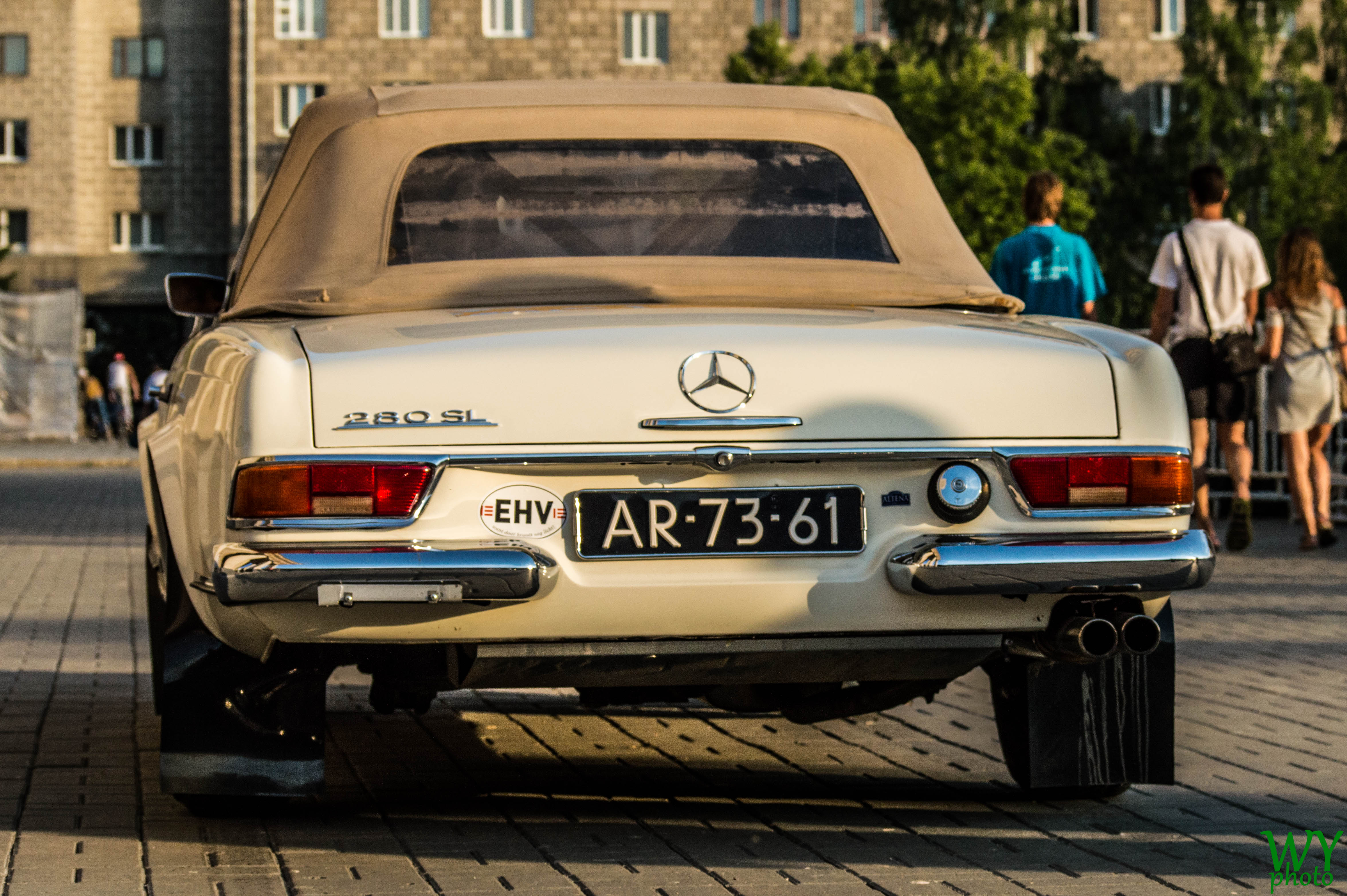 1969 mercedes 280 sl photo