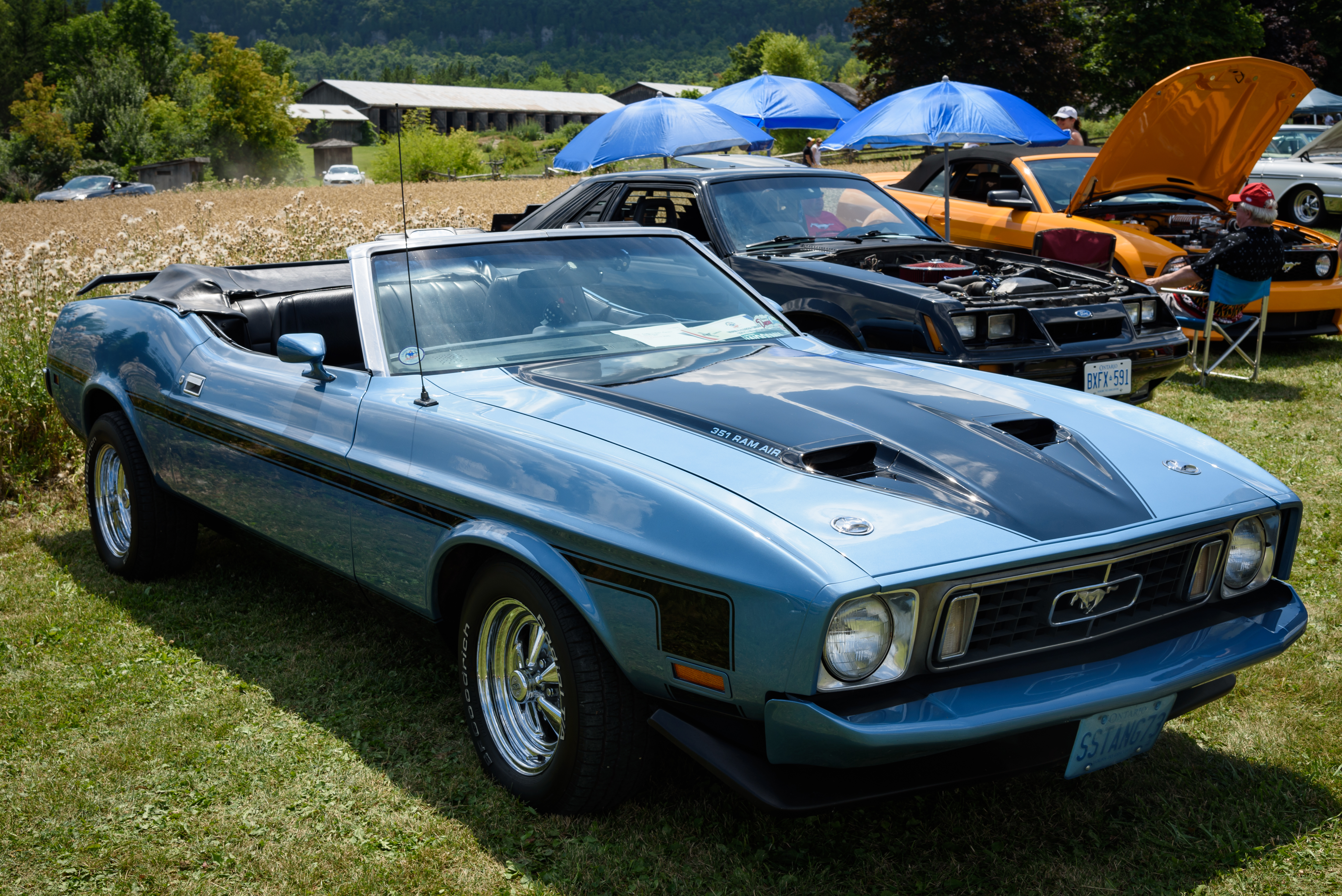 1973 ford mustang convertible photo