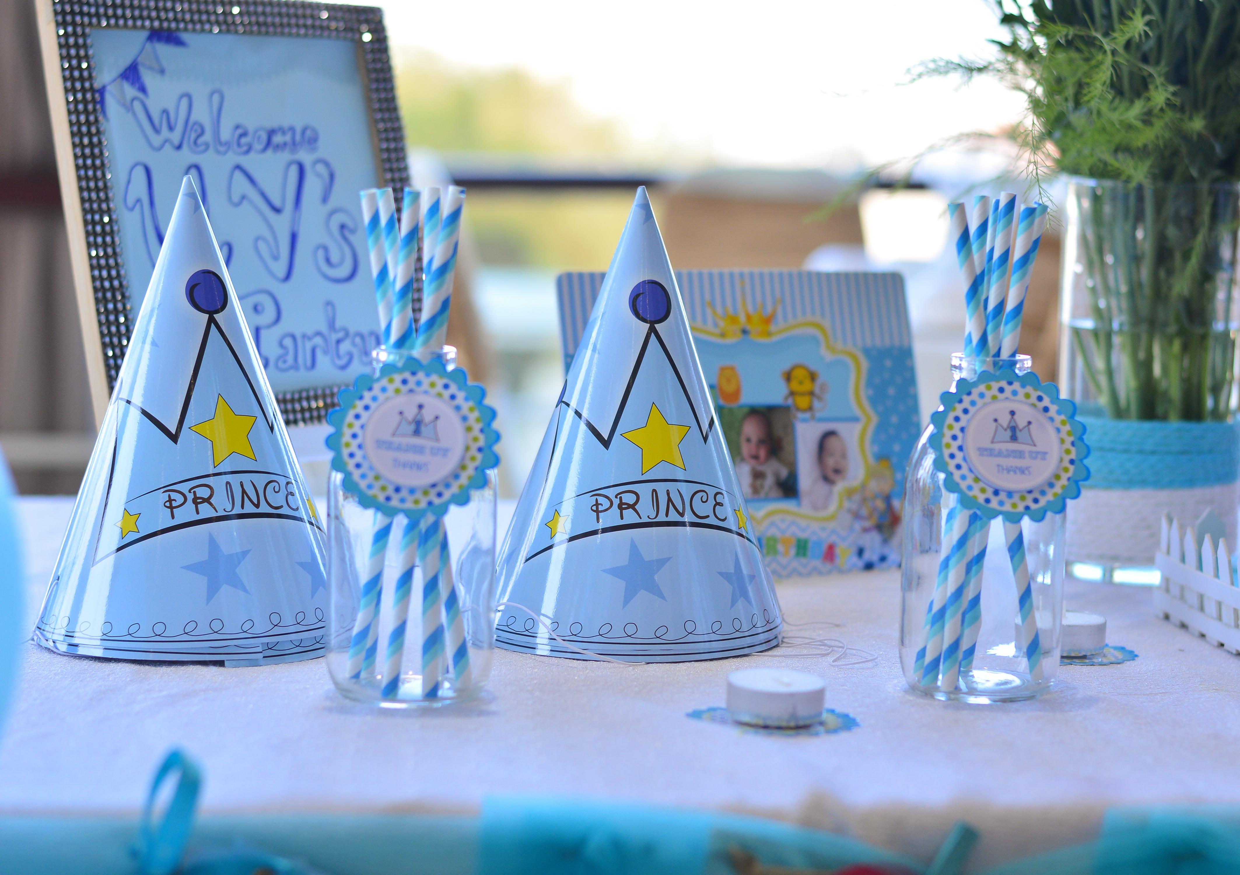 1st Birthday, Accessories, Birthday, Blue, Children, HQ Photo