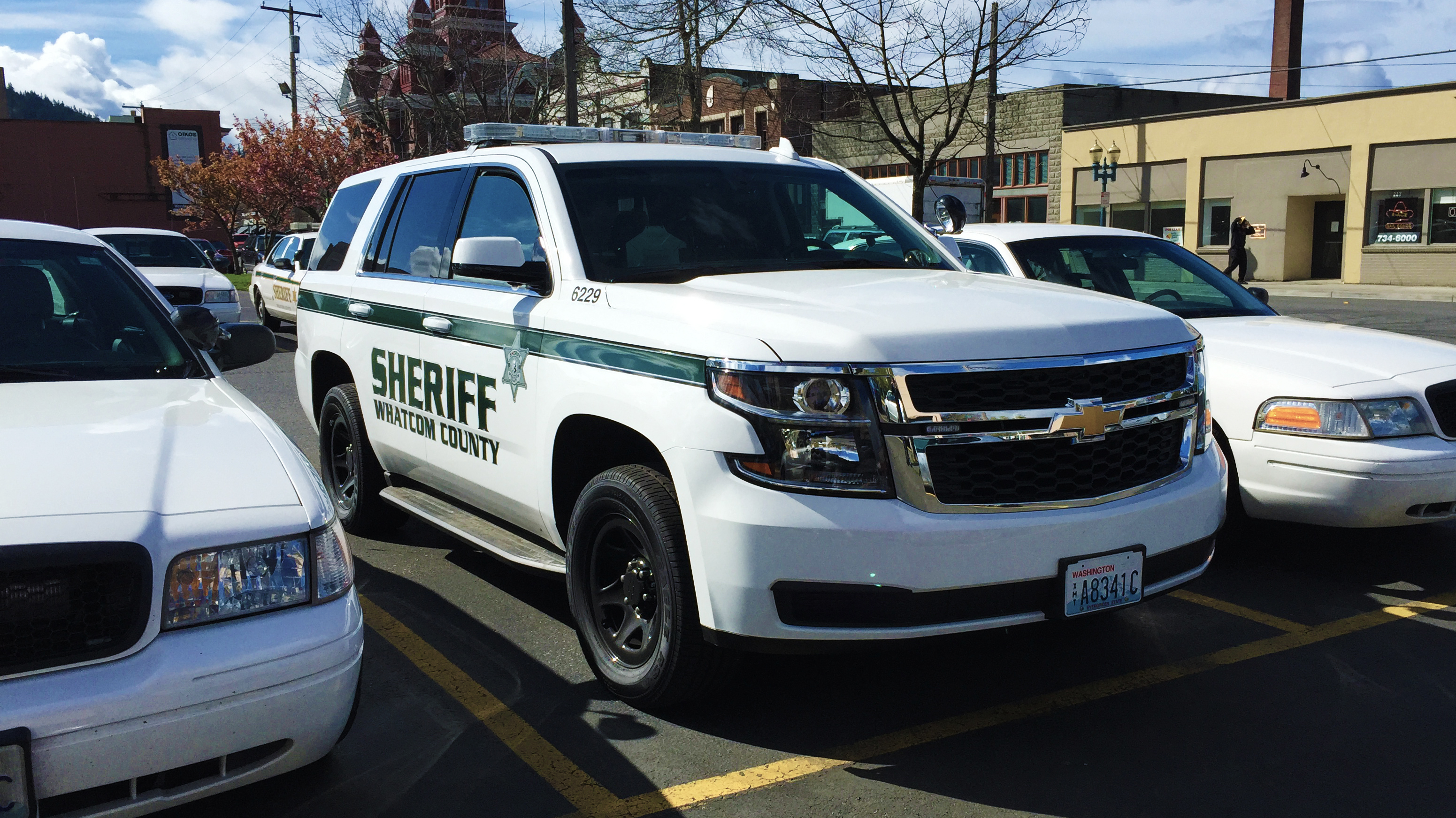 2015 chevy tahoe: whatcom county sheriff's office photo