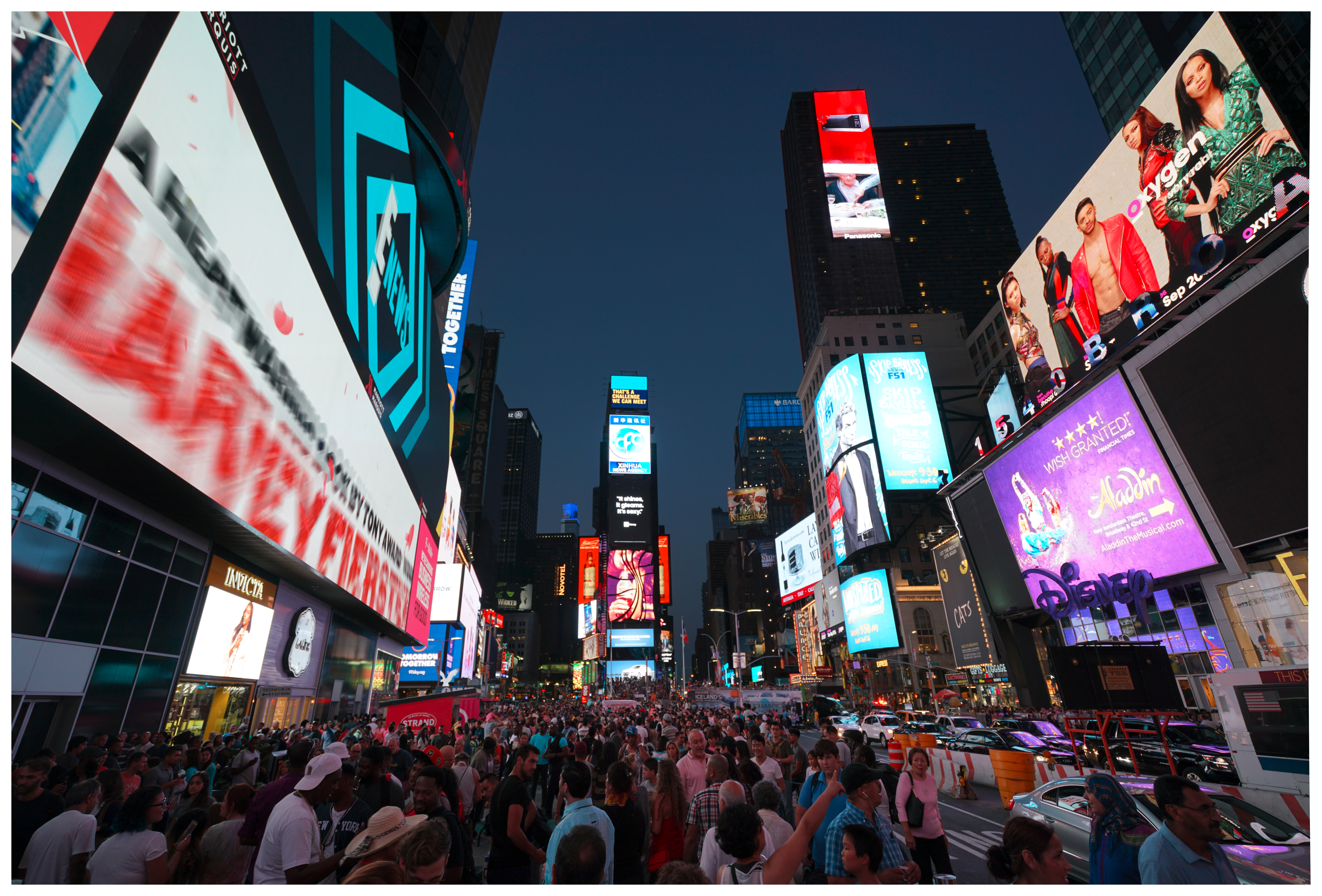 2016-09 New York-010-20160905, City, Crowd, People, HQ Photo