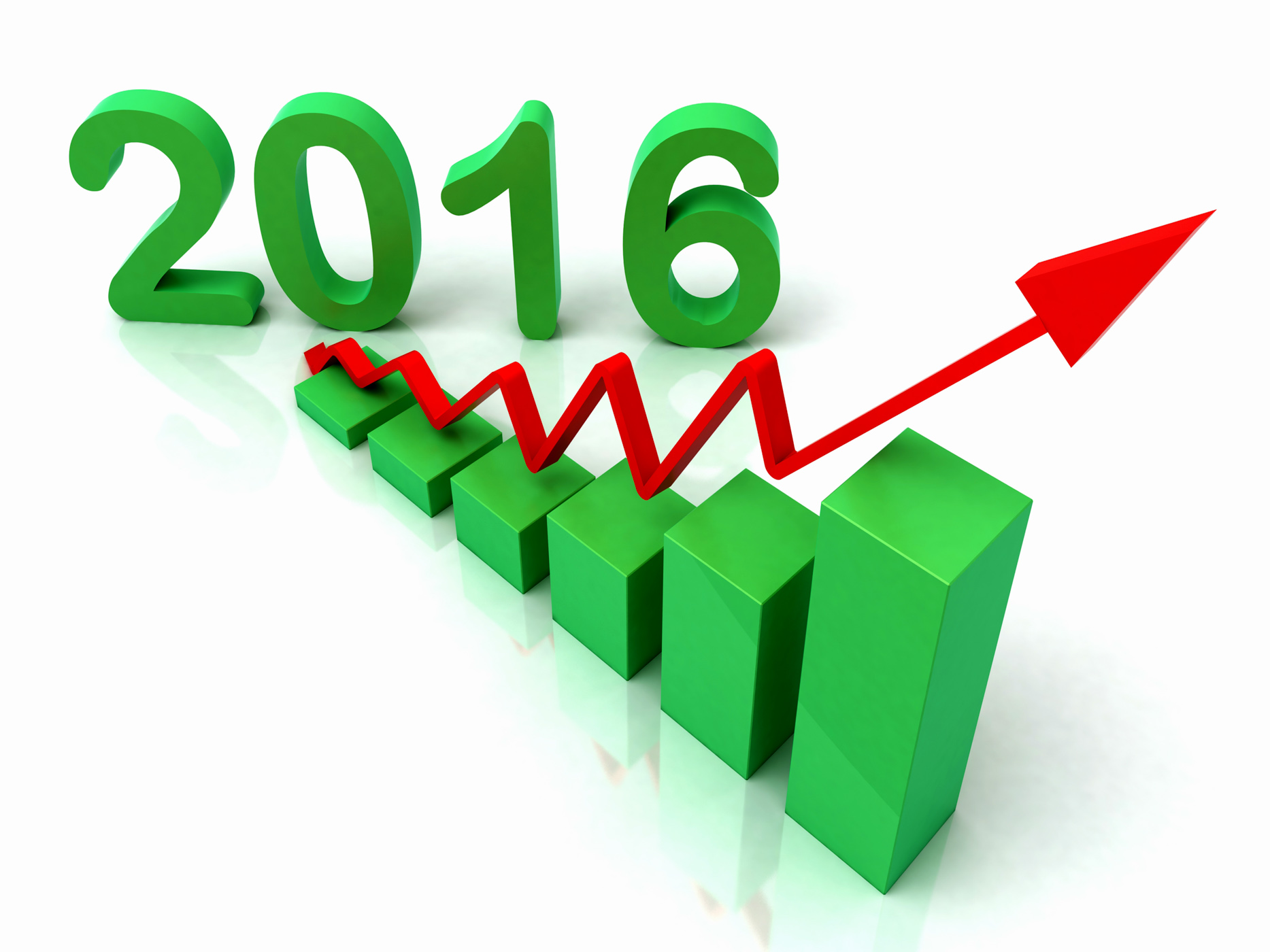 2016 Green Bar Chart Shows Budget, Grow, Success, Rising, Rise, HQ Photo