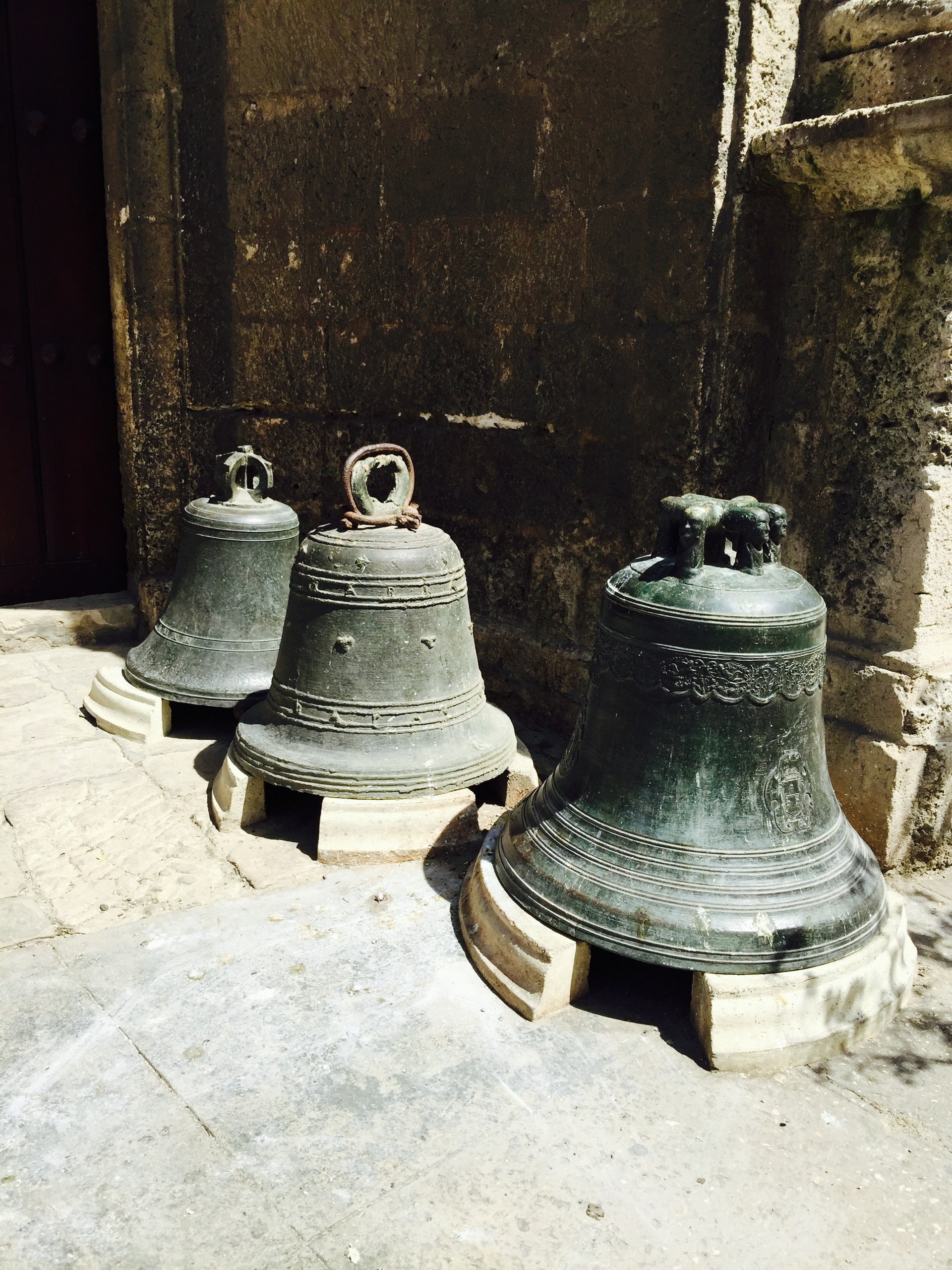 Foap.com: 3 Bells. Old bells in Old Havana stock photo by ziadmaalouf