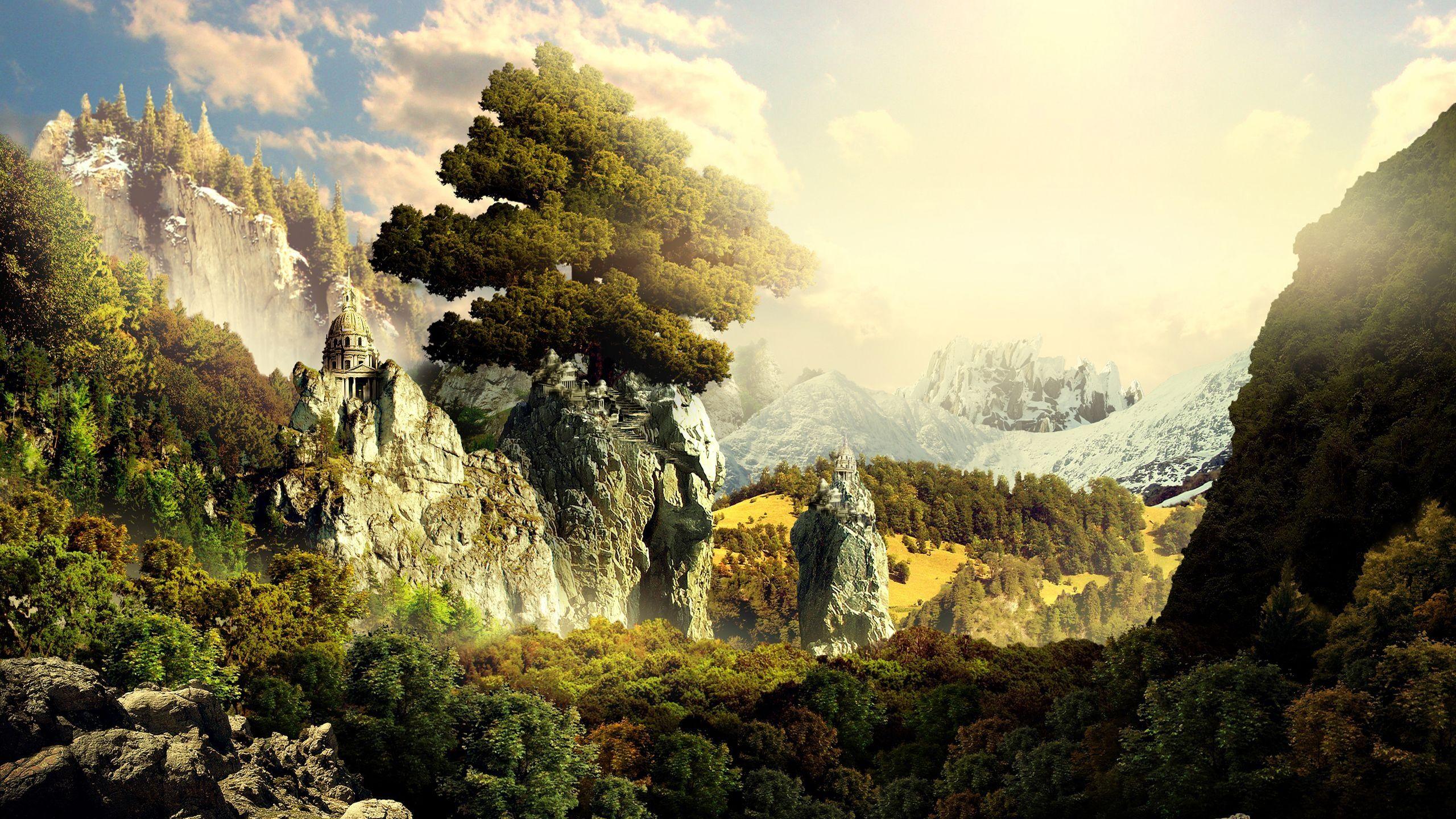 3d landscape photo