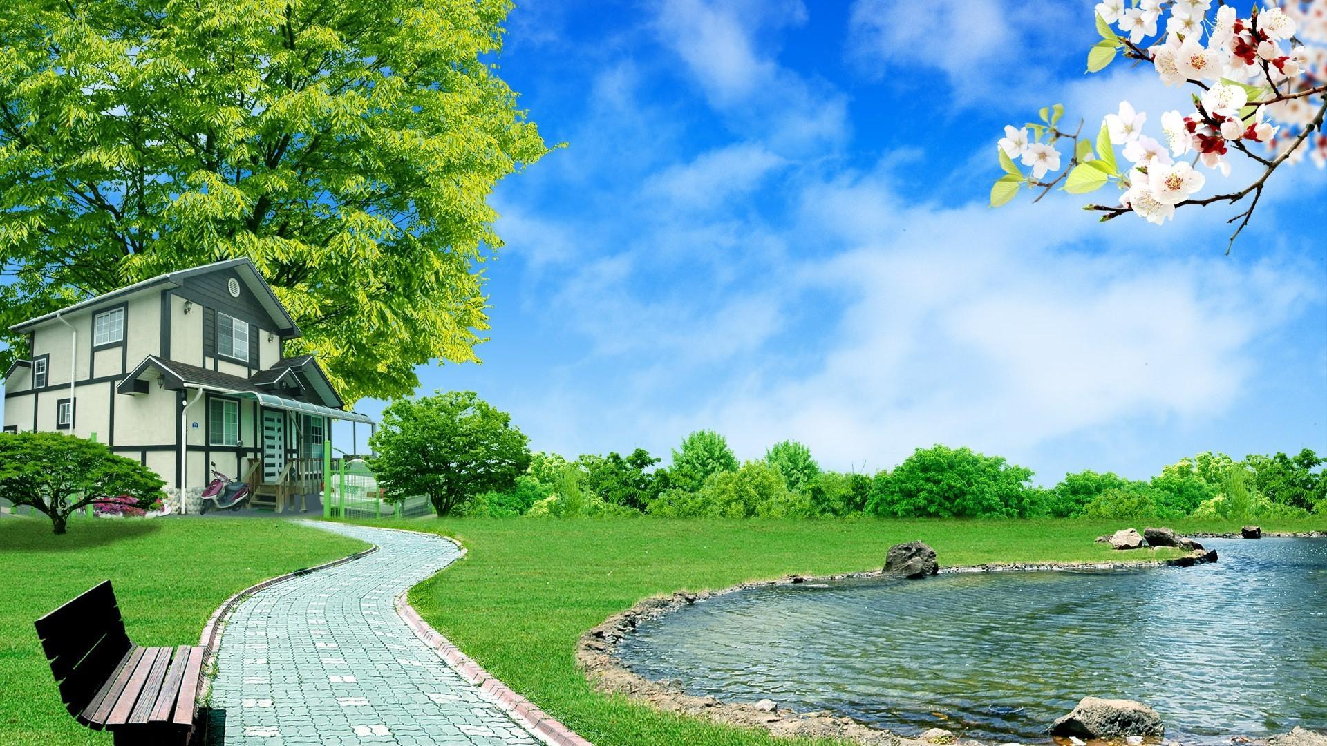 3d nature photo
