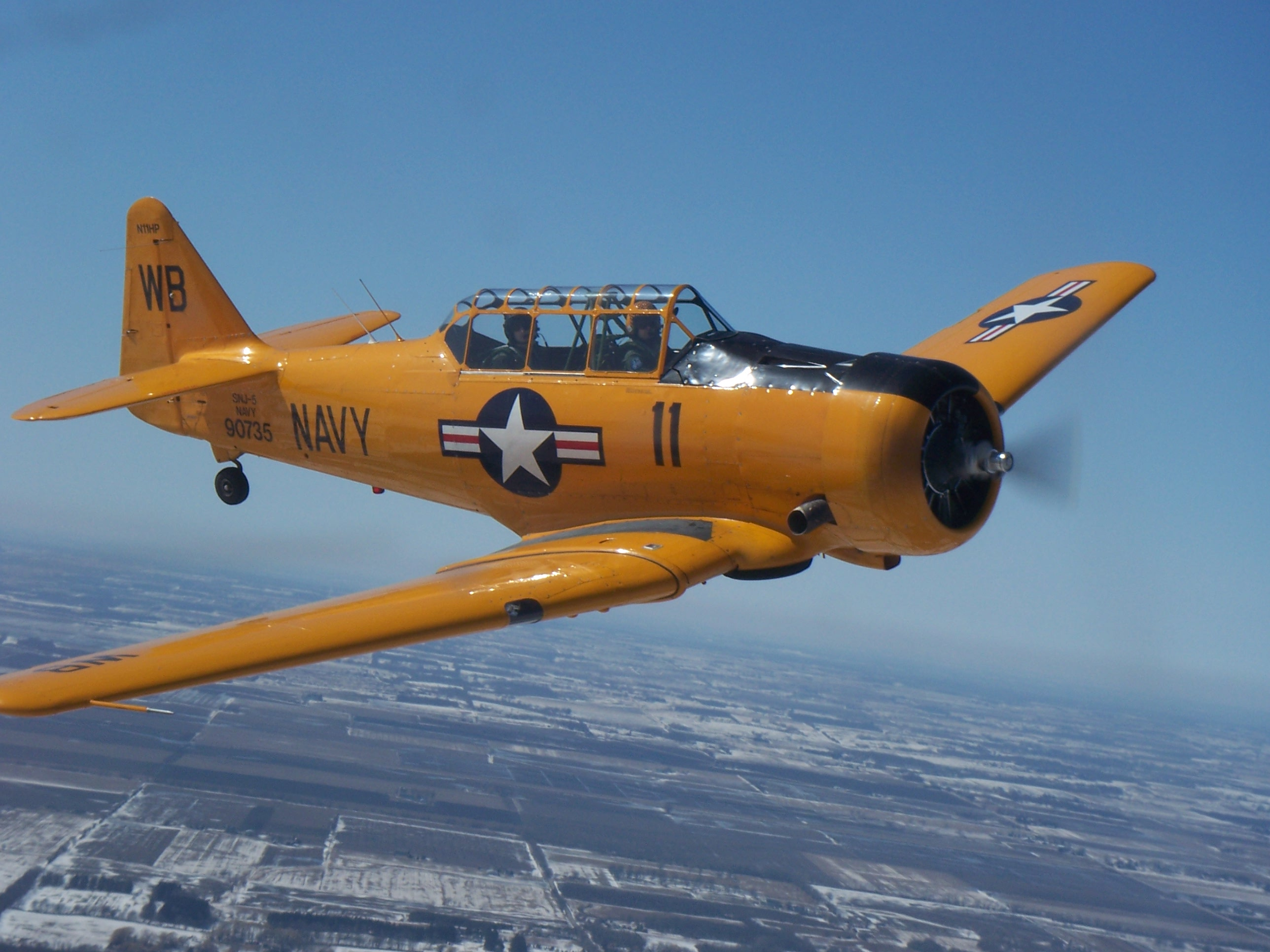 T-6 Texan Warbird Ride in Chicago