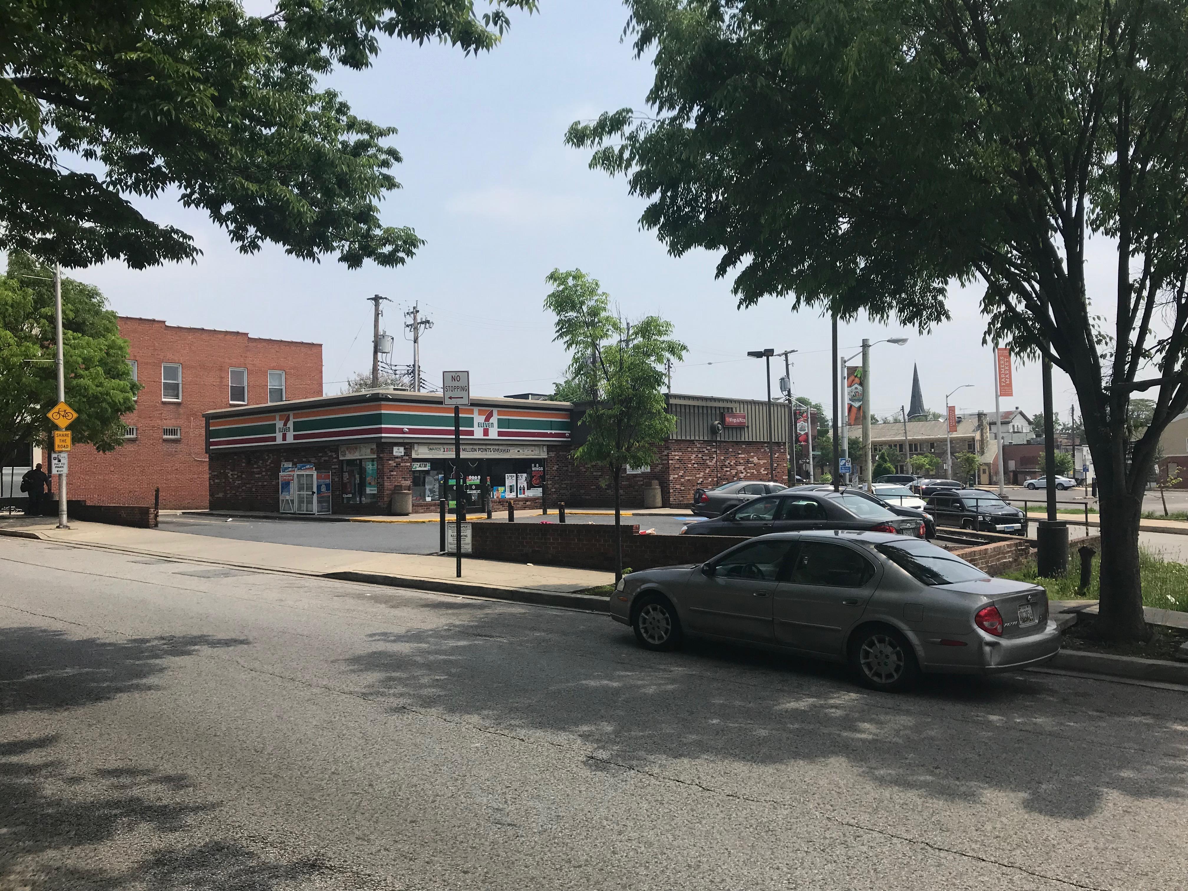 7-Eleven convenience store, 401 E. 33rd Street, Baltimore, MD 21218, 33rd Street, 7-eleven, Baltimore, Barclay Street, HQ Photo
