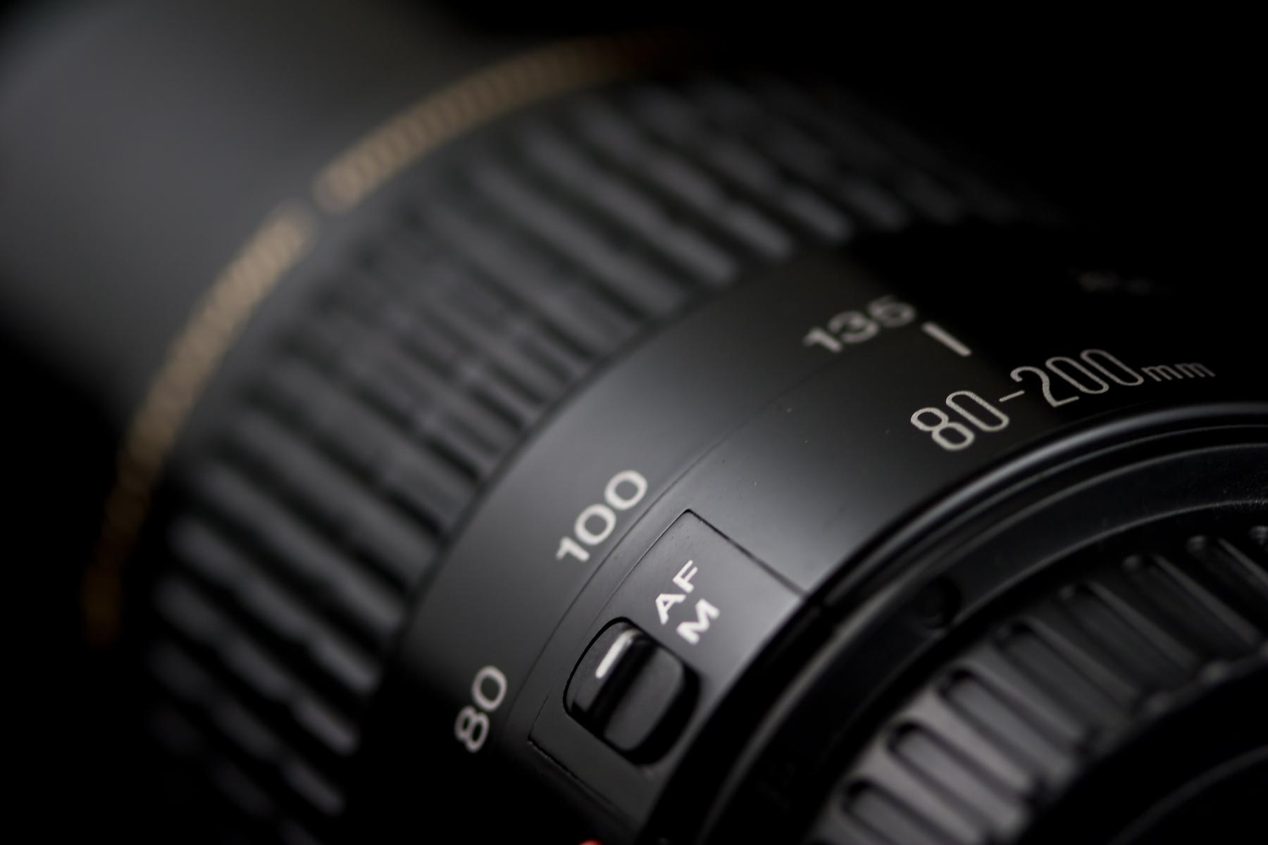 80-200mm lens closeup photo