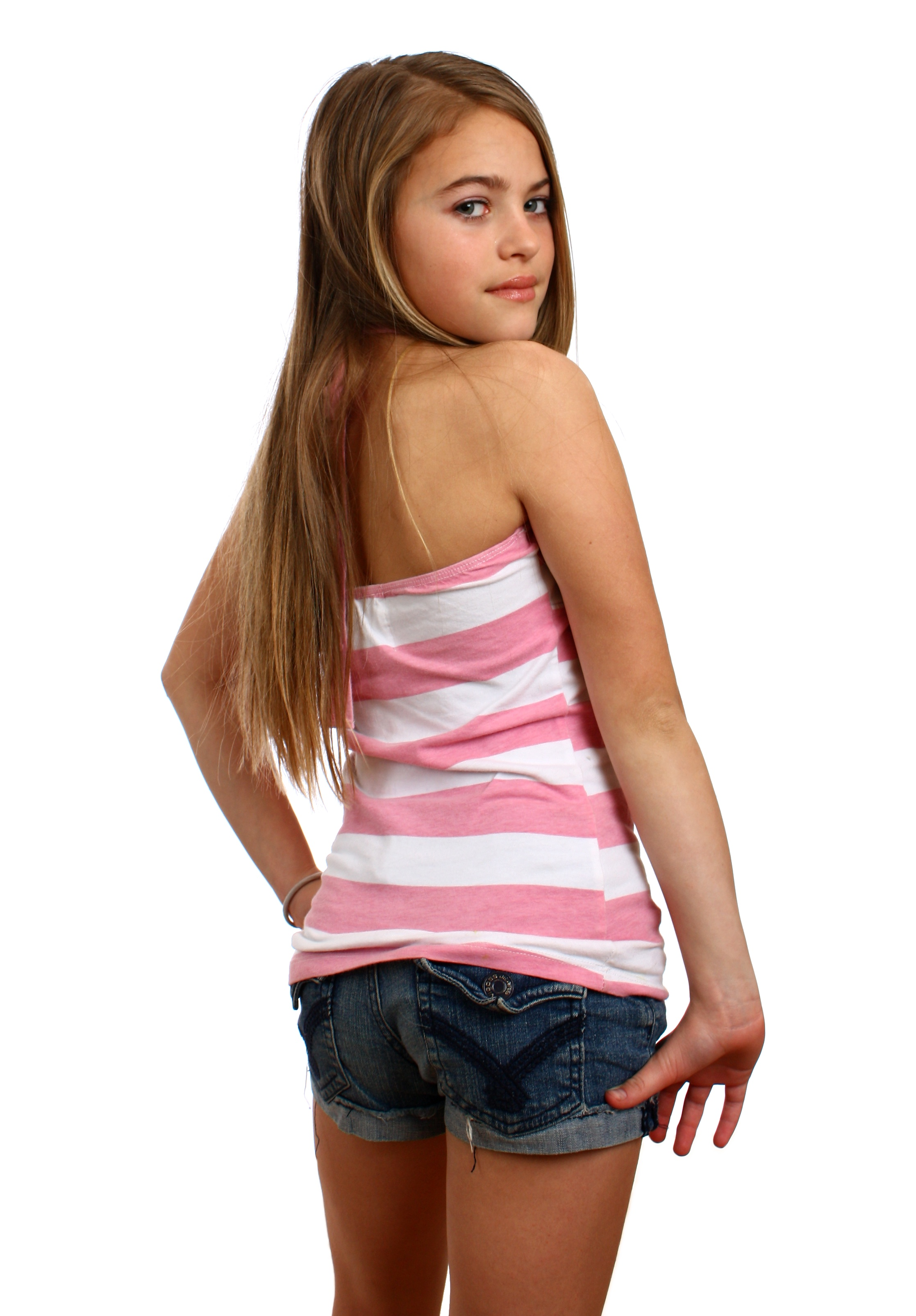 Free Photo: A Beautiful Young Girl Posing