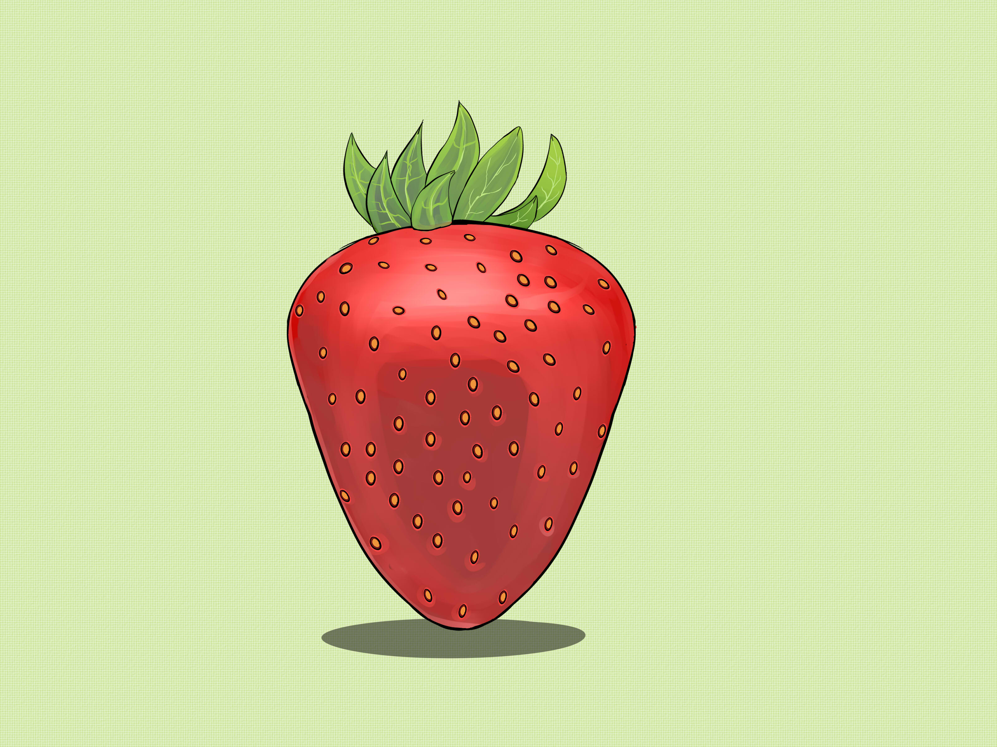 How to Draw Strawberries: 11 Steps (with Pictures) - wikiHow