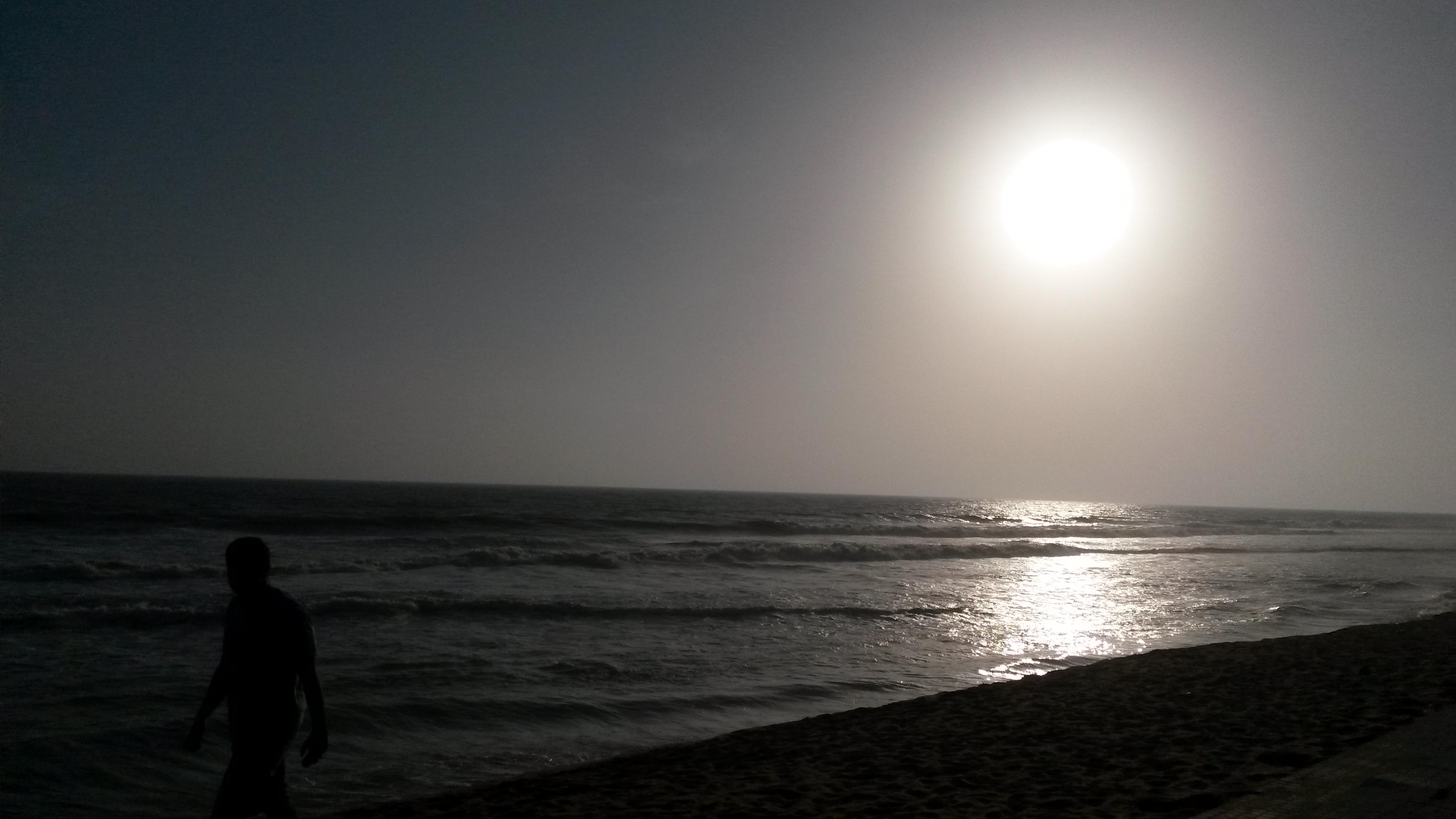 A sun in beach photo