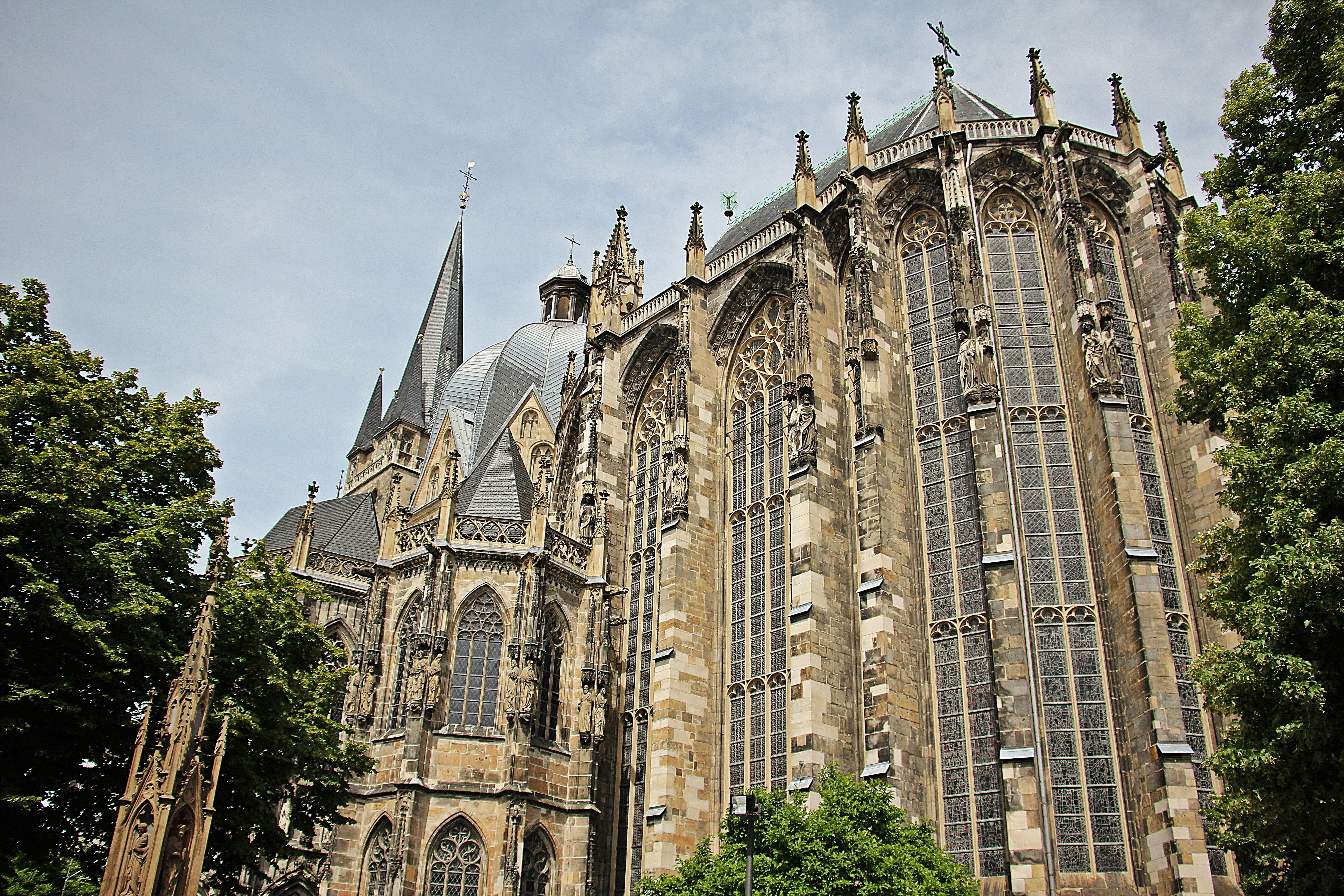 Aachen cathedral photo