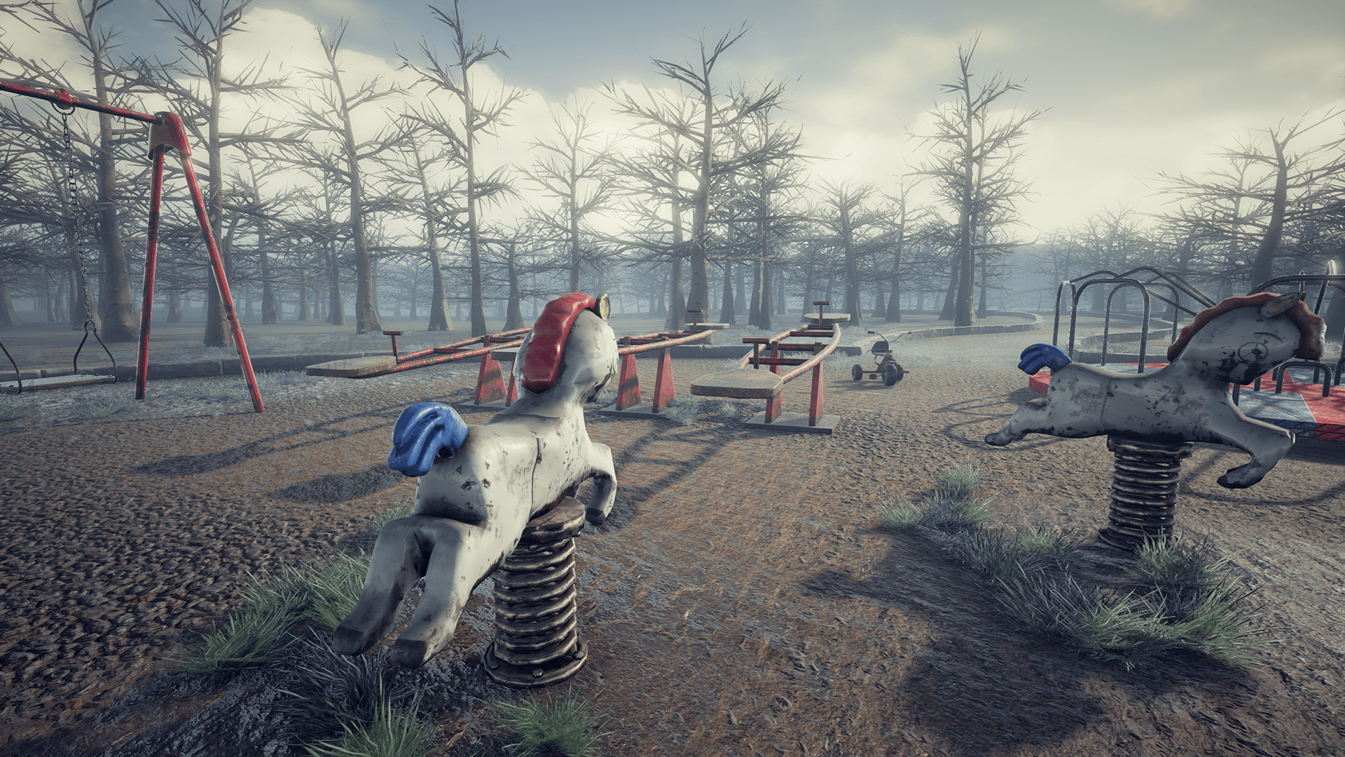 Abandoned Playground by Erhan Yilmaz in Environments - UE4 Marketplace