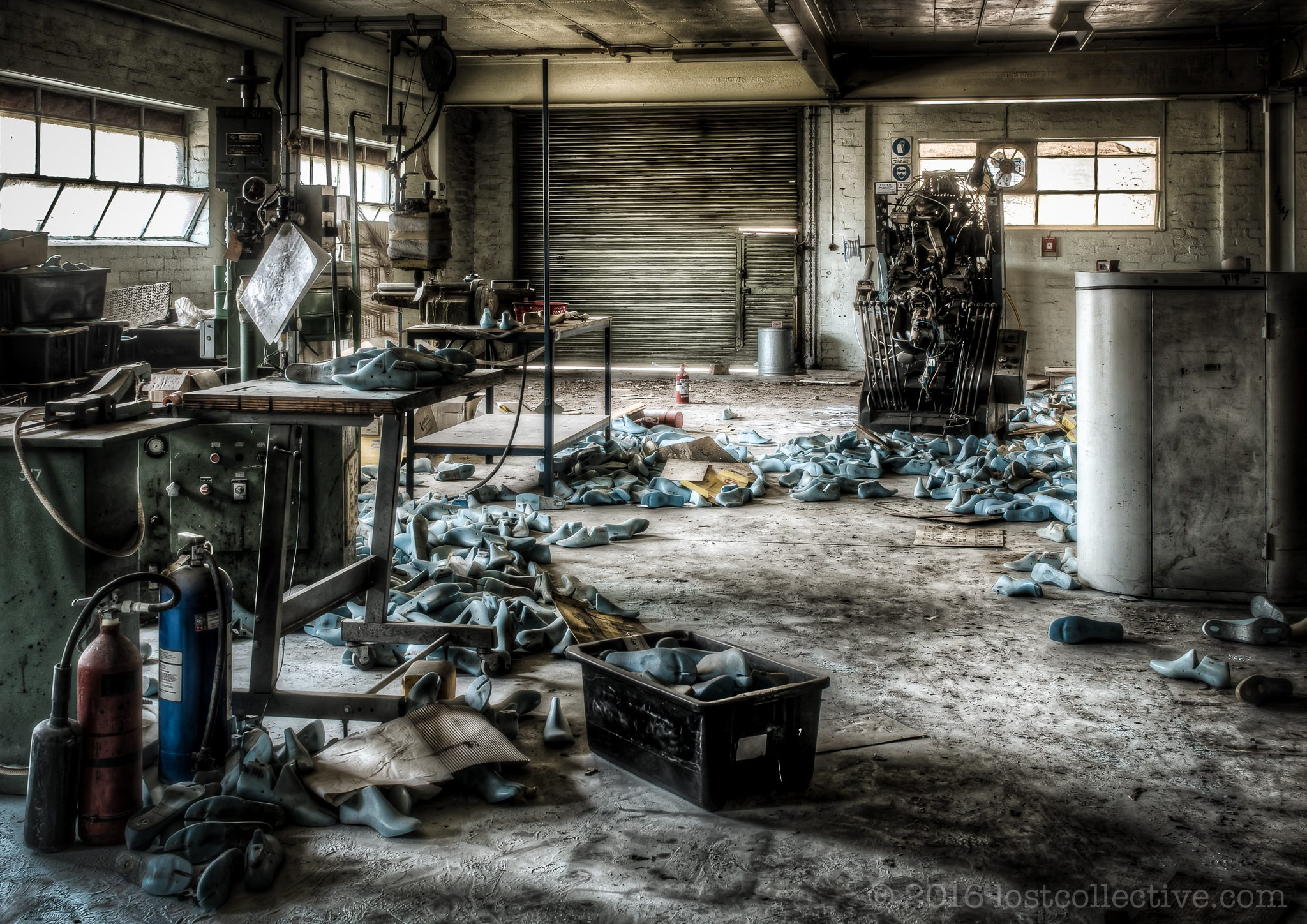 Abandoned Shoe Factory | Lost Collective