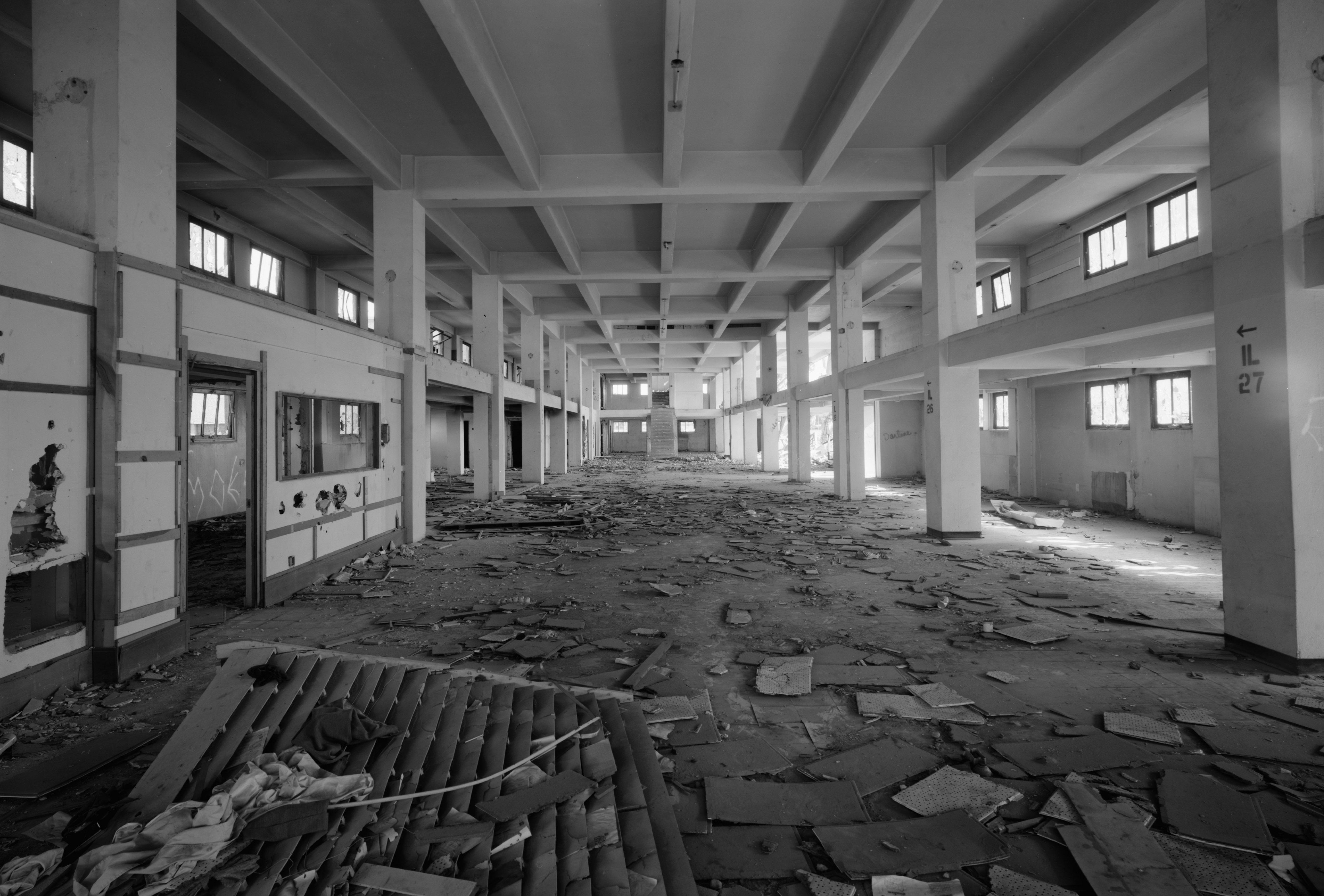 Interior of Abandoned building in Albuquerque, New Mexico image ...