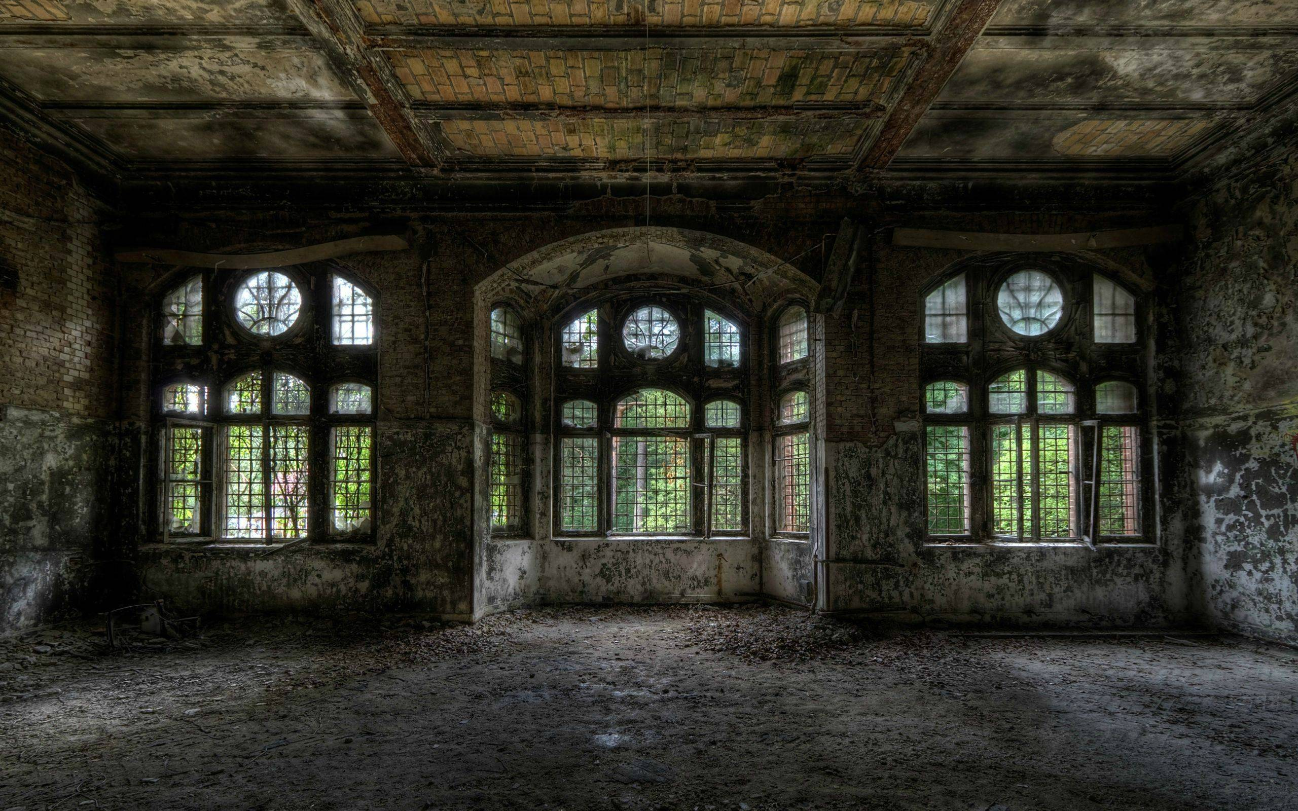 Abandoned Building Wallpaper | 2560x1600 | ID:34397 ...
