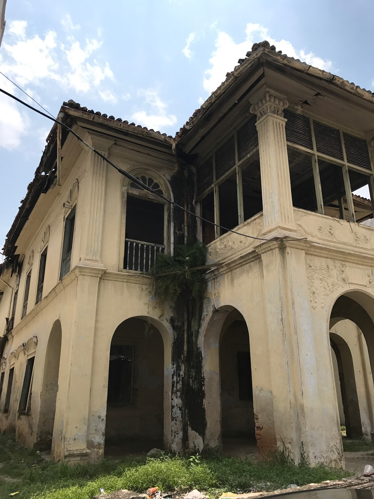 ABANDONED BUILDING IN MALACCA | URBAN ARCHITECTURE NOW
