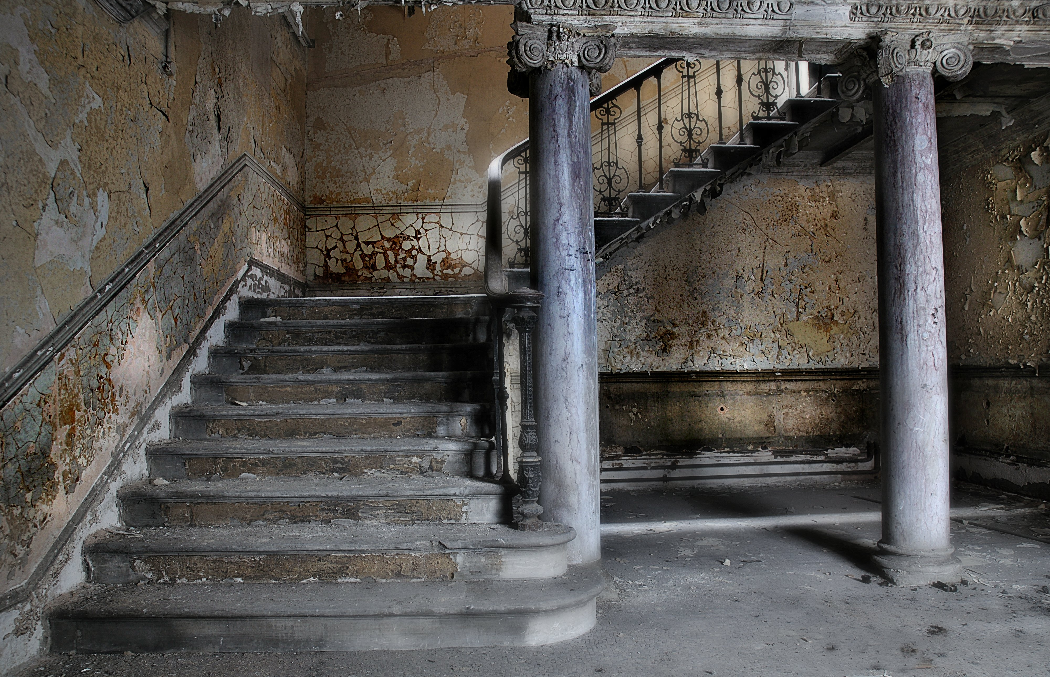 Exciting Abandoned Buildings As Wells As Abandoned Buildings ...