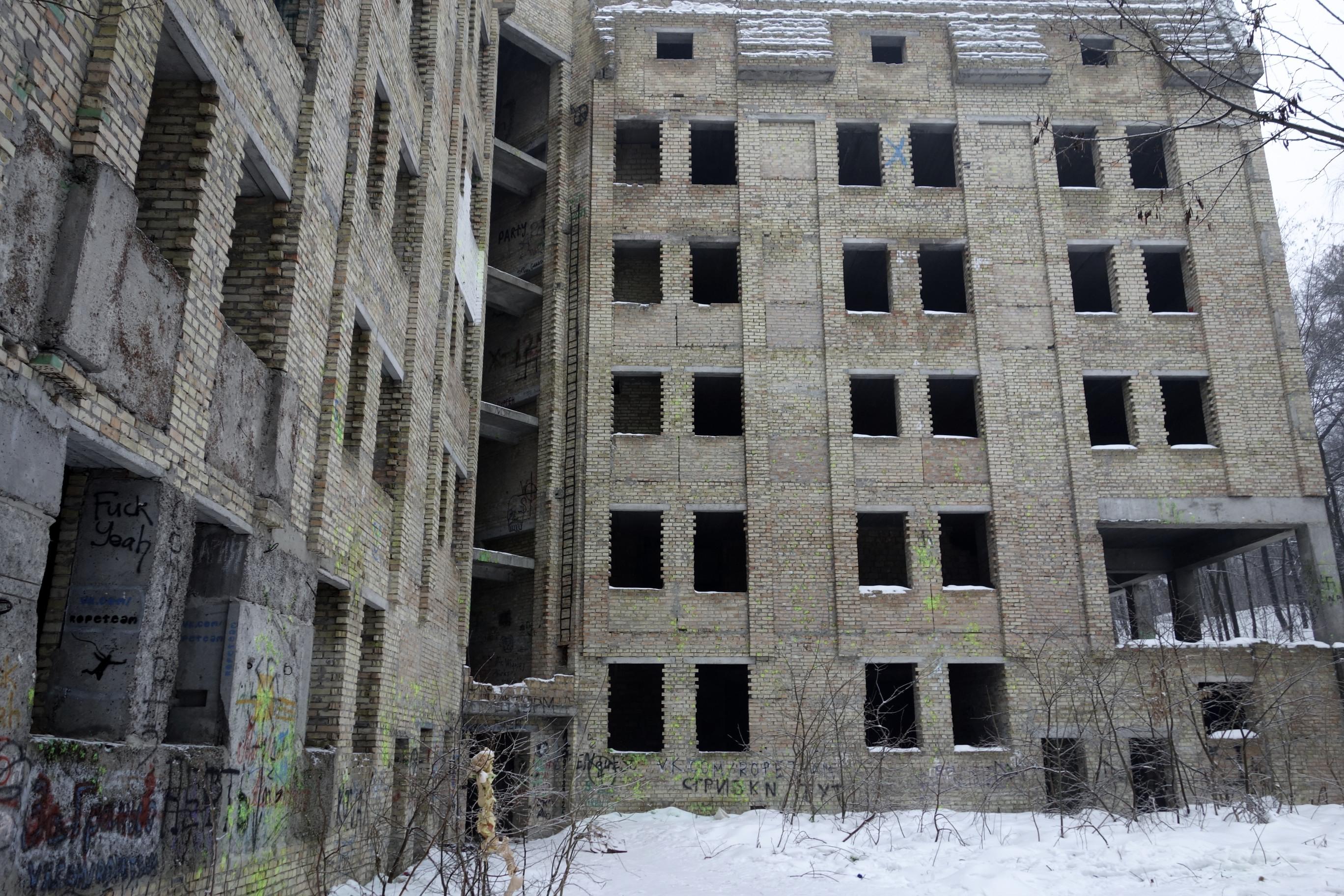 Abandoned building | Frej Jönsson
