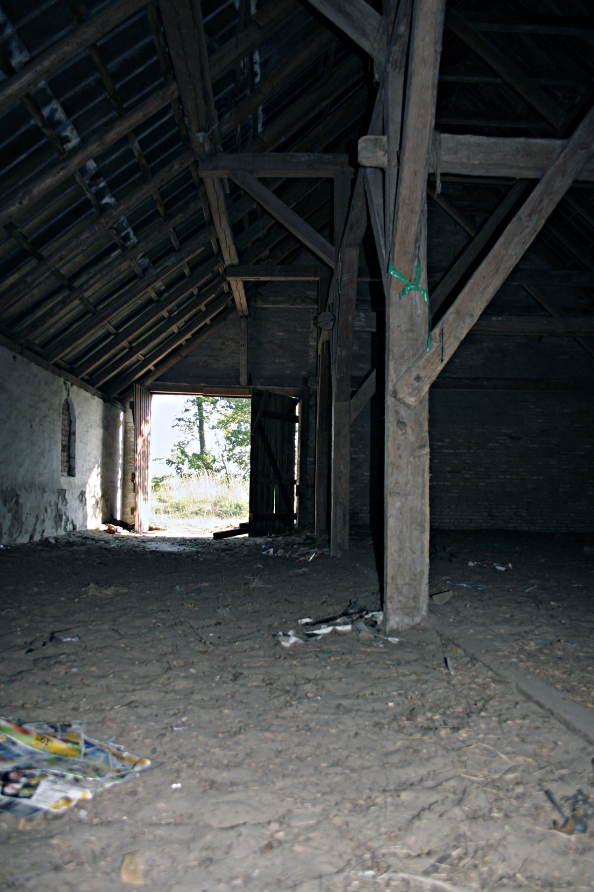 Abandoned building, House, Inside, Light, Scary, HQ Photo