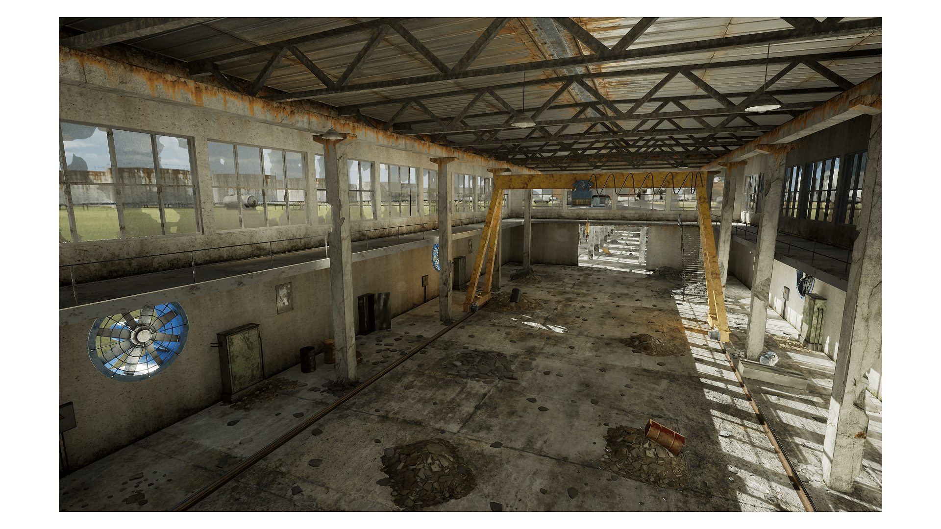 Abandoned Factory by Tirgames Assets in Environments - UE4 Marketplace