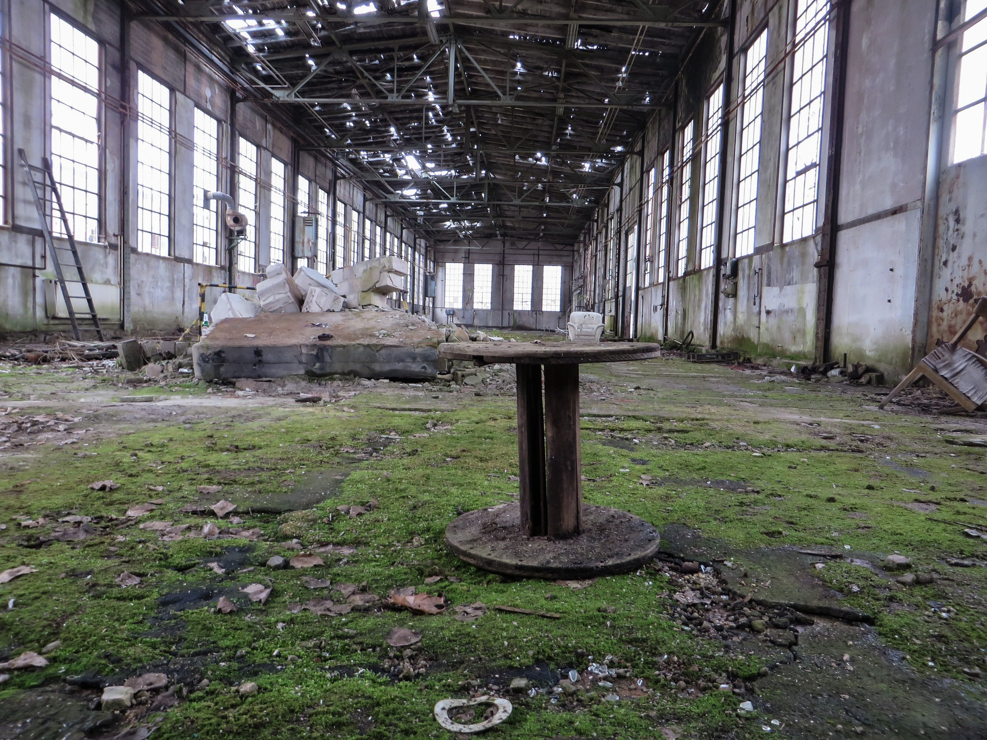 Abandoned Factory, Factory, Keep, Construction, Architecture, HQ Photo