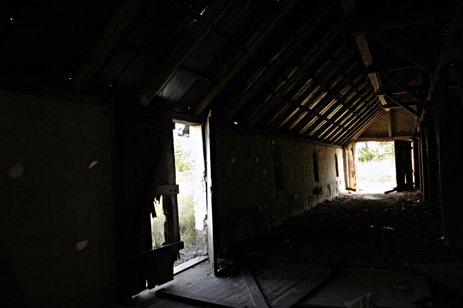 Abandoned house, House, Inside, Light, Scary, HQ Photo