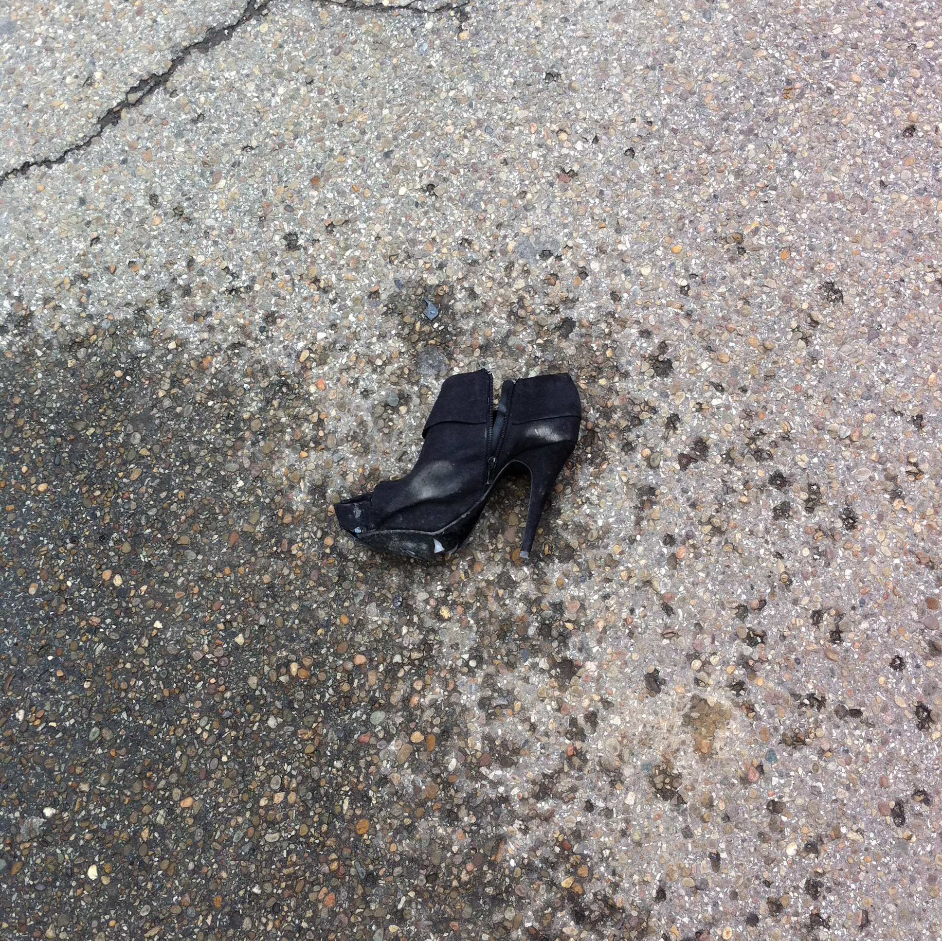 Abandoned Shoes: Stripped | The Ongoing History of Pittsburgh