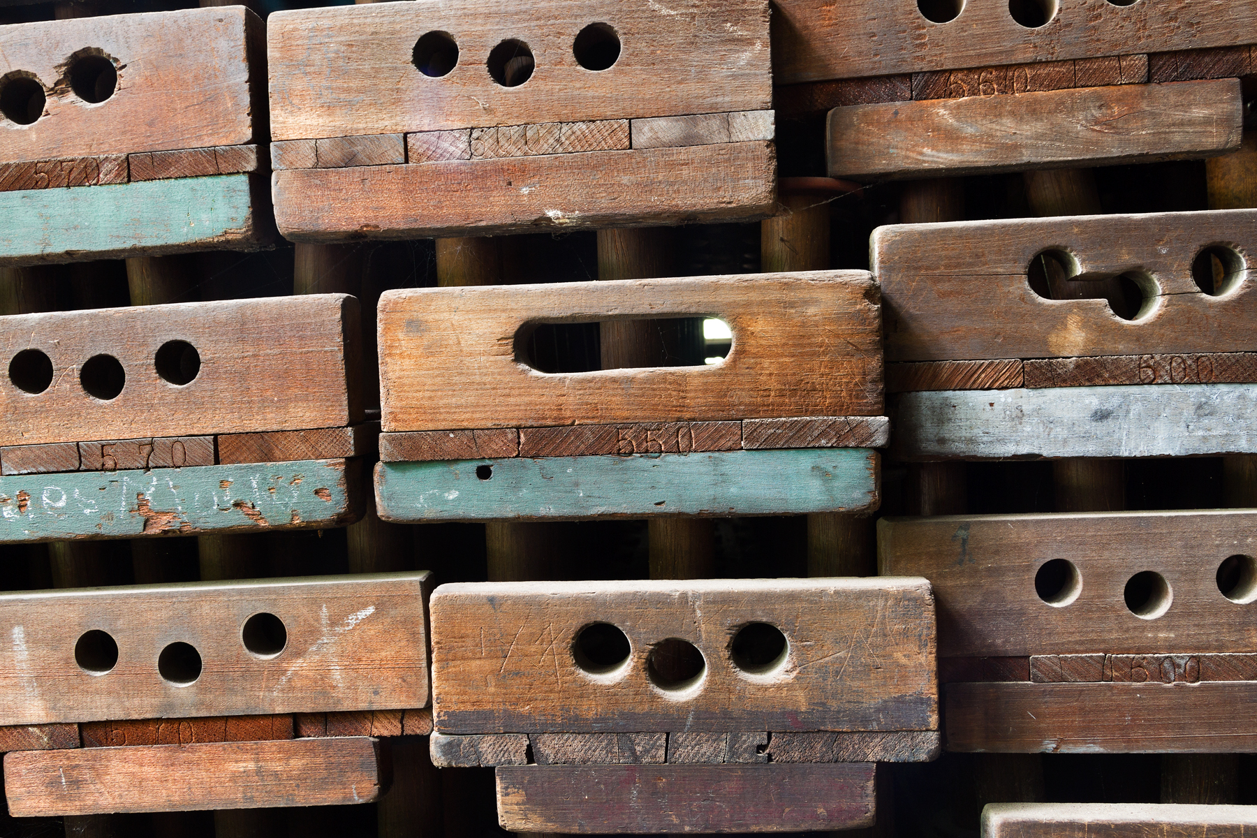 Abandoned Silk Mill Boxes, Abandoned, Nostalgic, Retro, Red, HQ Photo